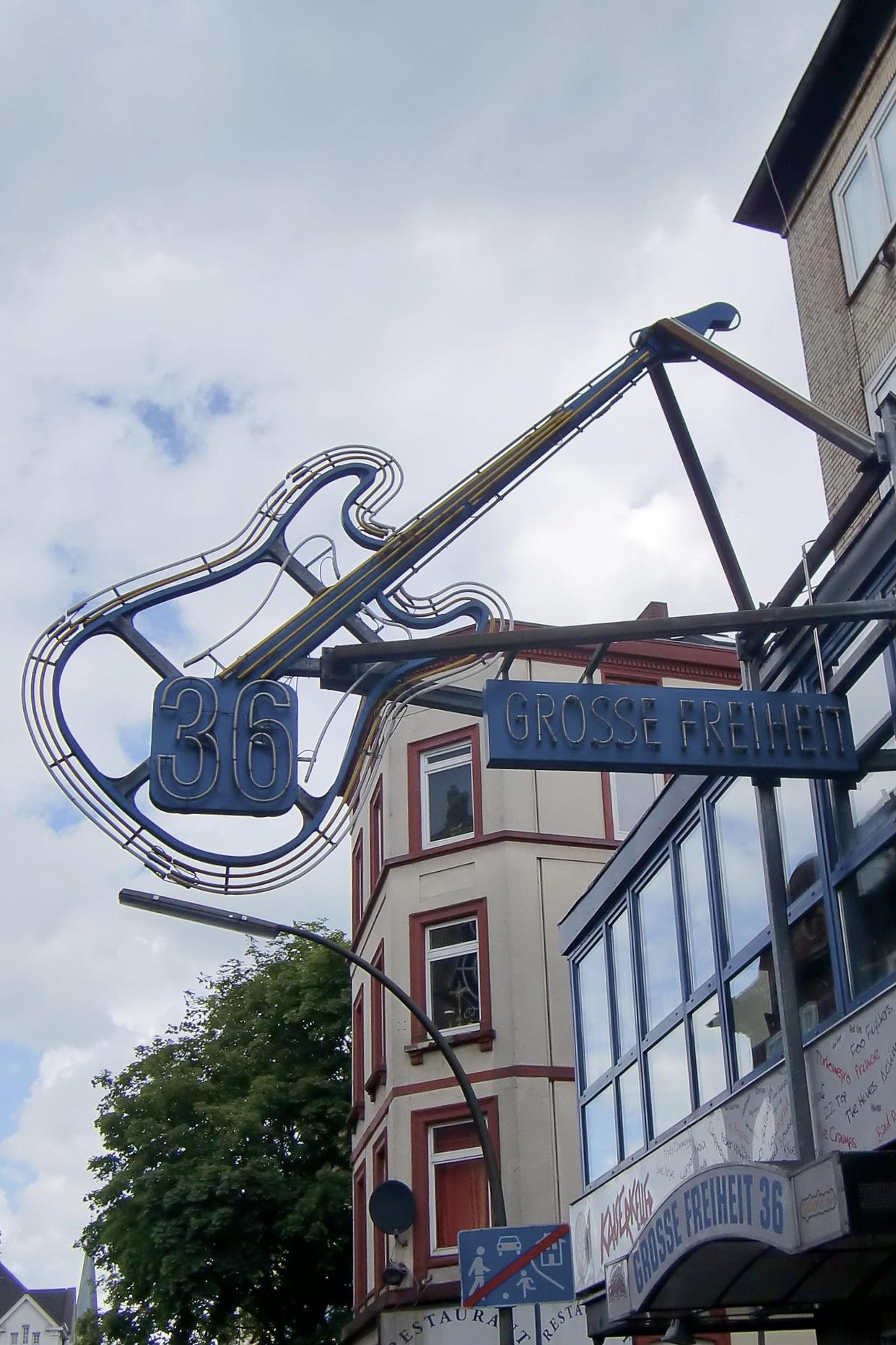 Große Freiheit 36 in St.Pauli
