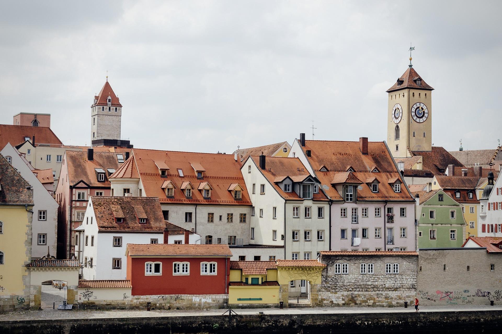 Regensburg in der Oberpfalz Bayerns ist ein toller Wochenendtrip