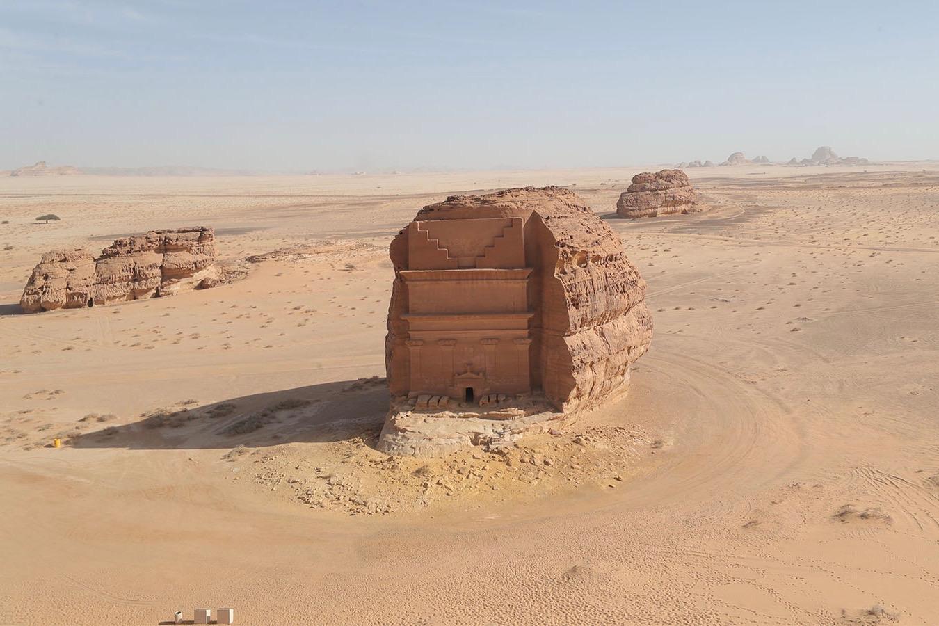 Saudi-Arabien ist eines der besonderen Reiseziele im Januar