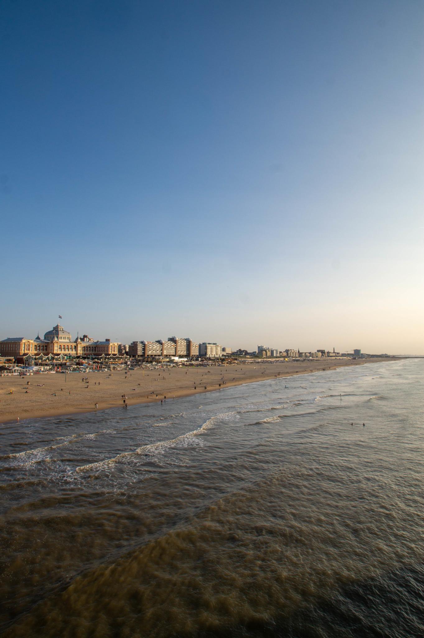 Küste am Scheveningen Strand