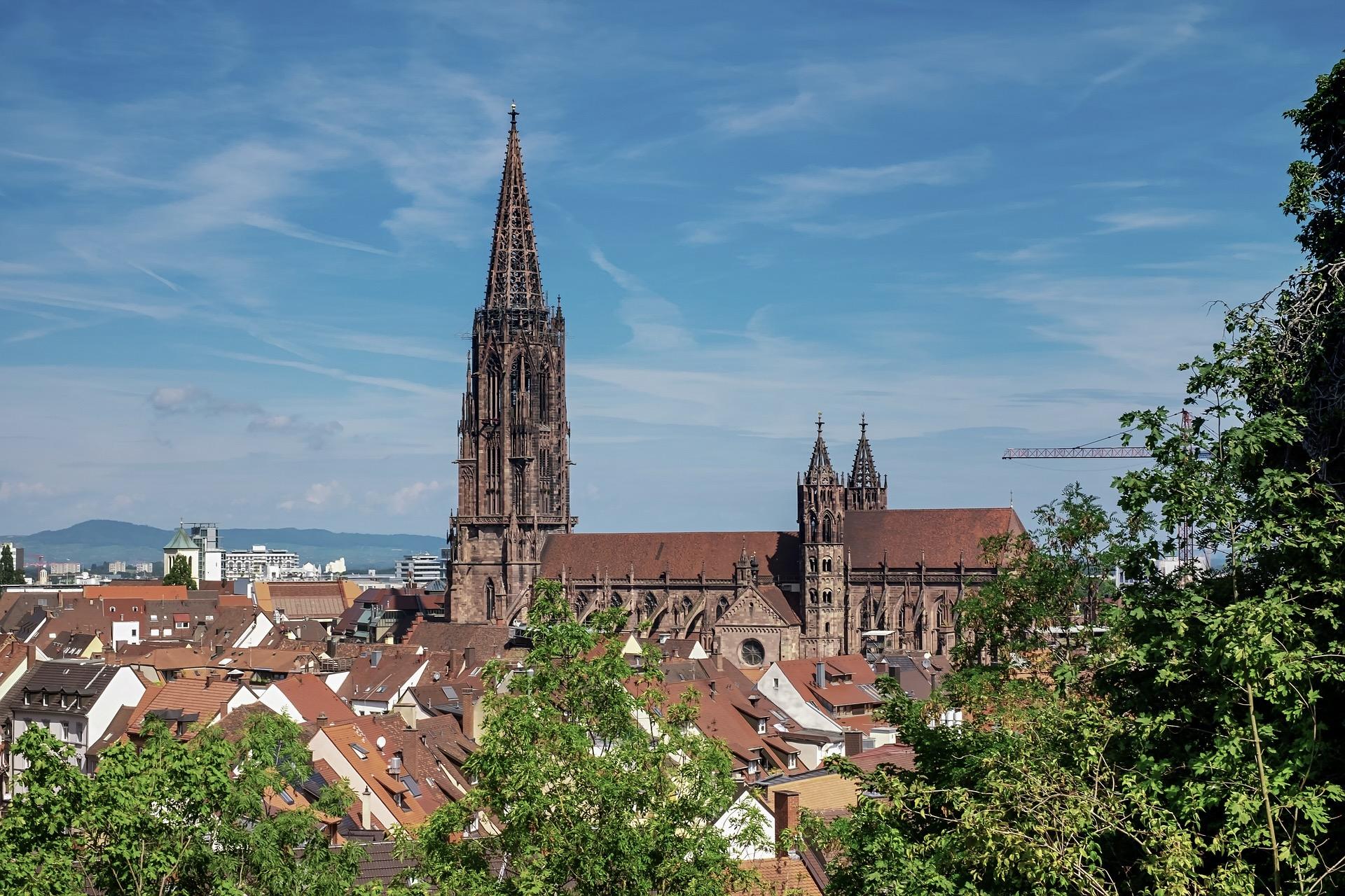 Freiburg ist eine der schönen Städte Süddeutschlands
