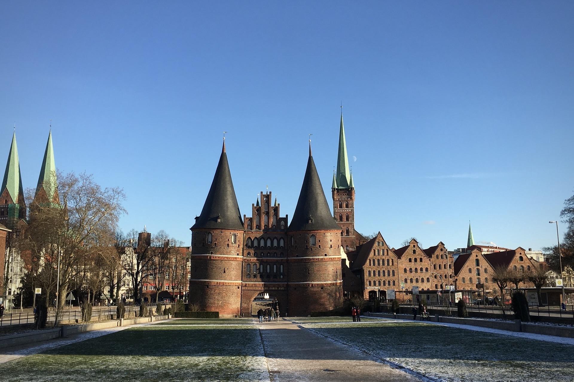 Zu den schönsten Städten Deutschlands zählt Lübeck im Norden