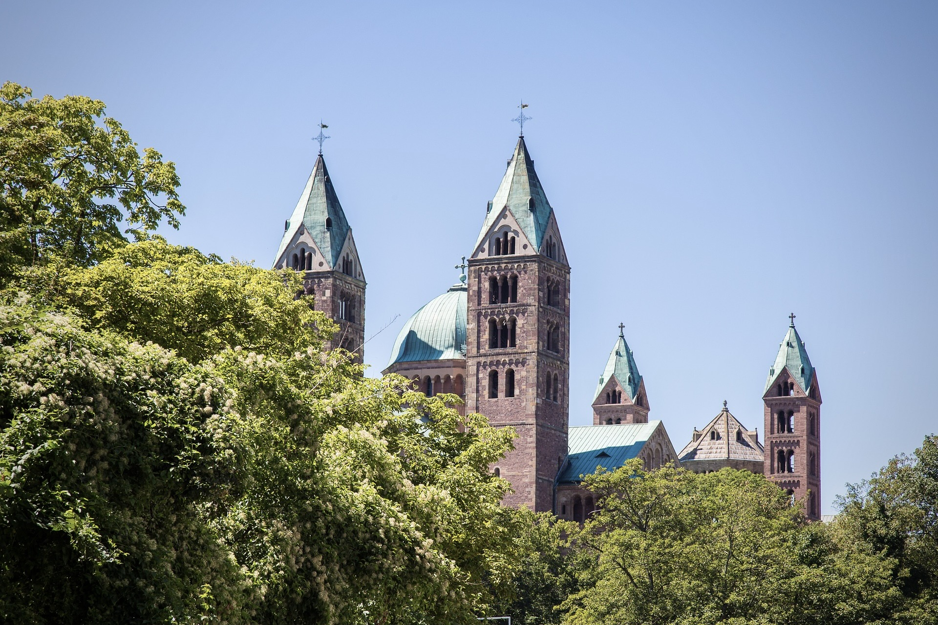 Speyer in Süddeutschland mit dem Dom