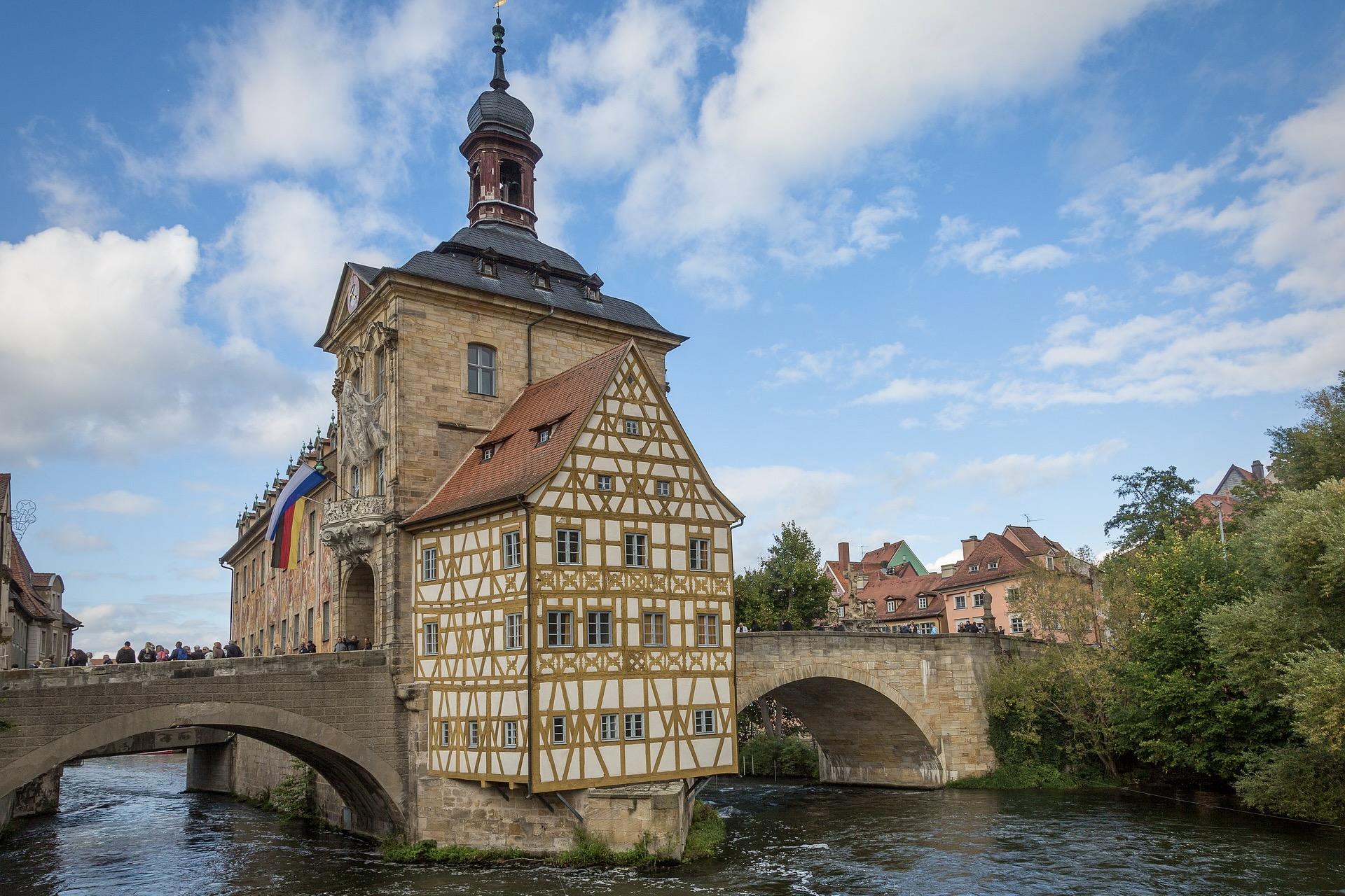 Bamberg in Franken ist eine der schönsten Städte in Deutschland