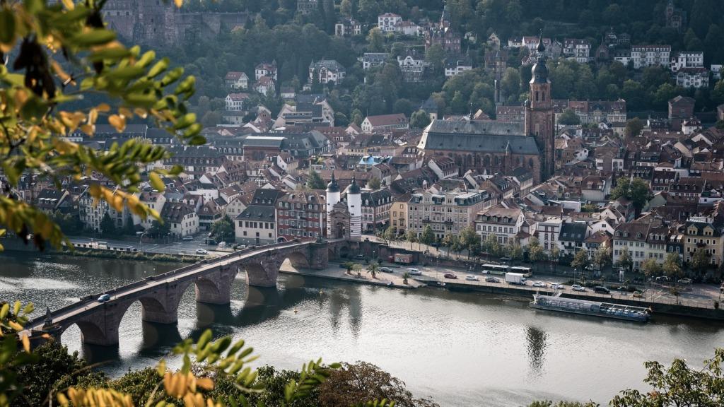 Heidelberg ist eine der schönsten Städte Deutschlands