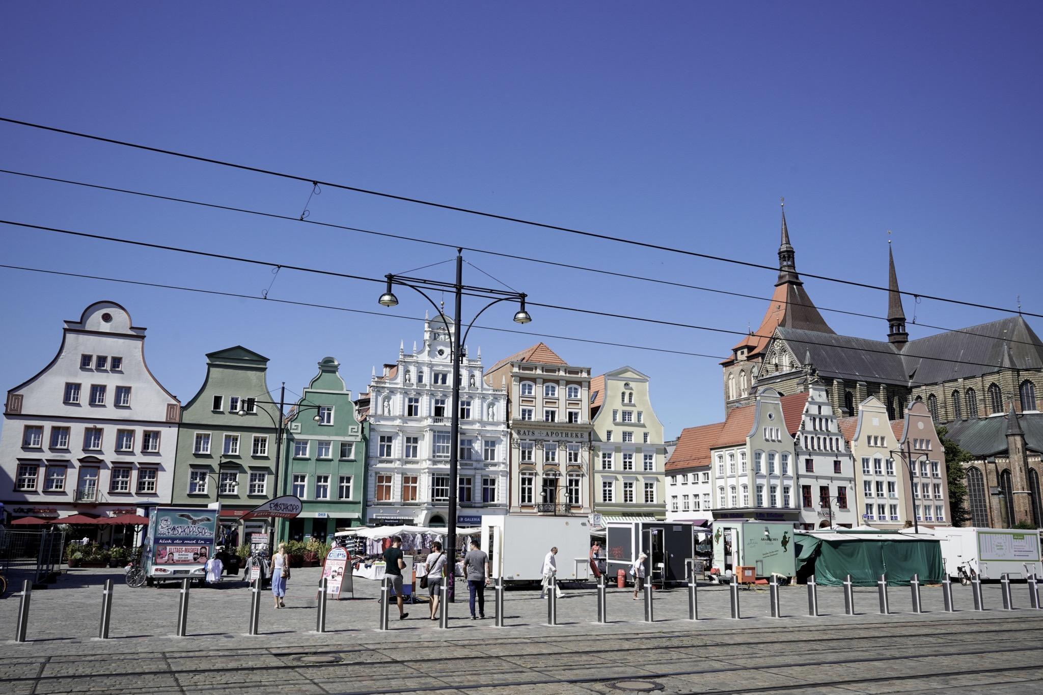 Viele zählen Rostock zu den schönsten Städten in Deutschland