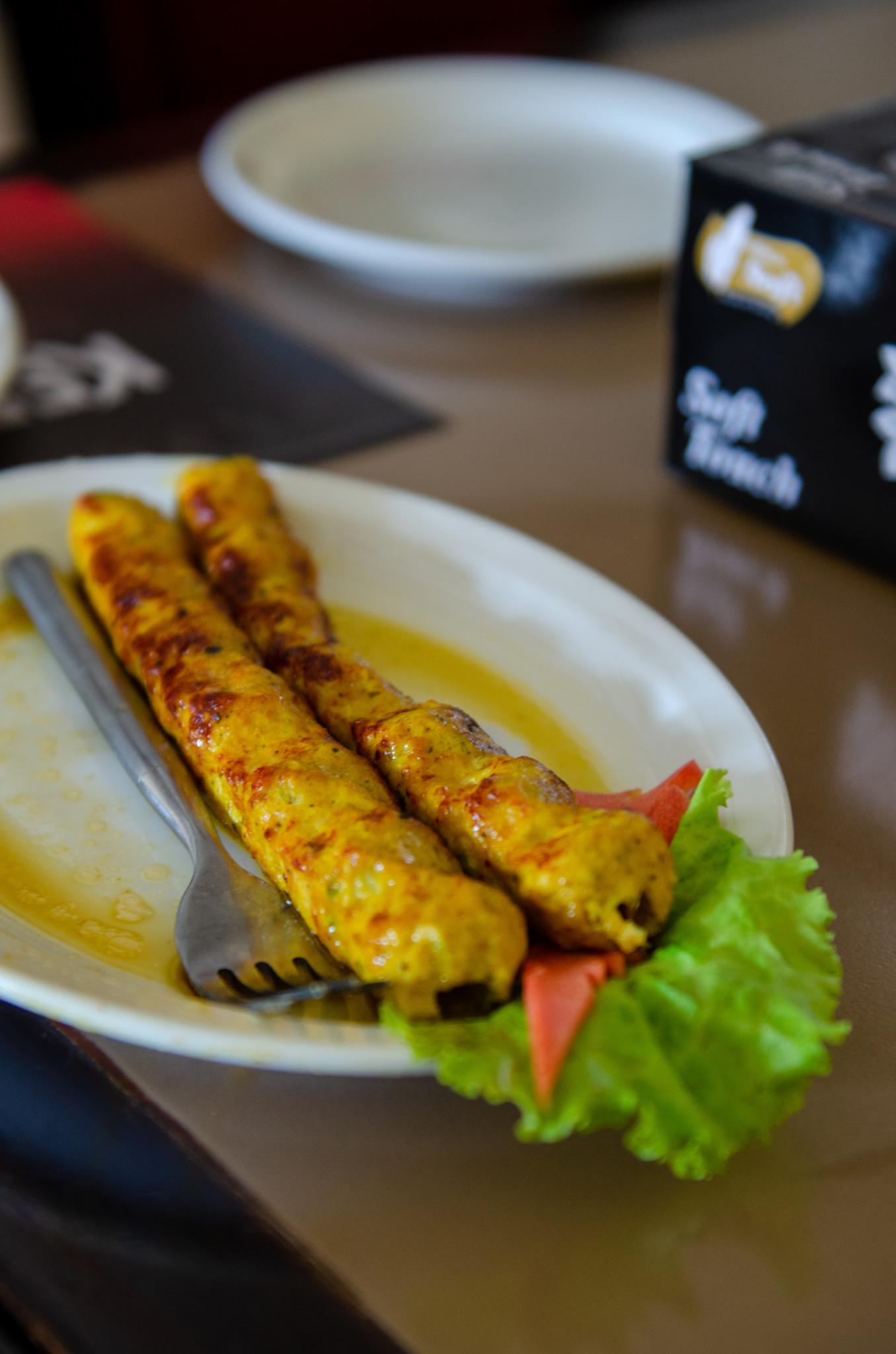 Sheekh Kebab aus Pakistan