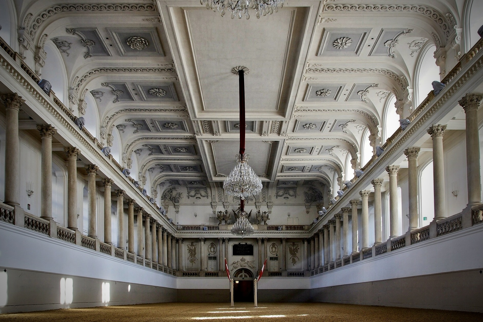 Eine der beliebtesten Wien Sehenswürdigkeiten ist die Spanische Hofreitschule