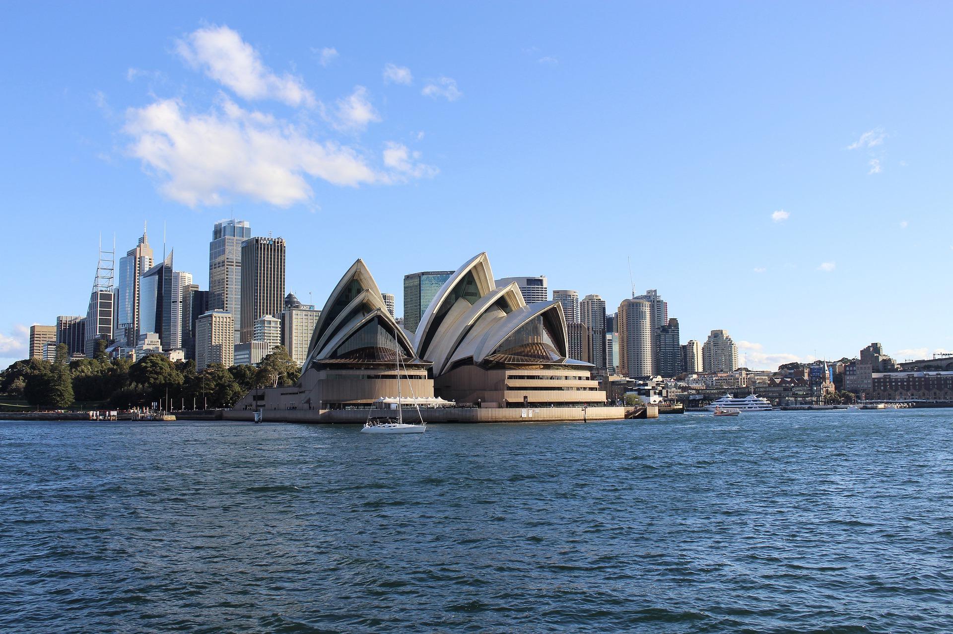 Das Oper in Sydney in Australien