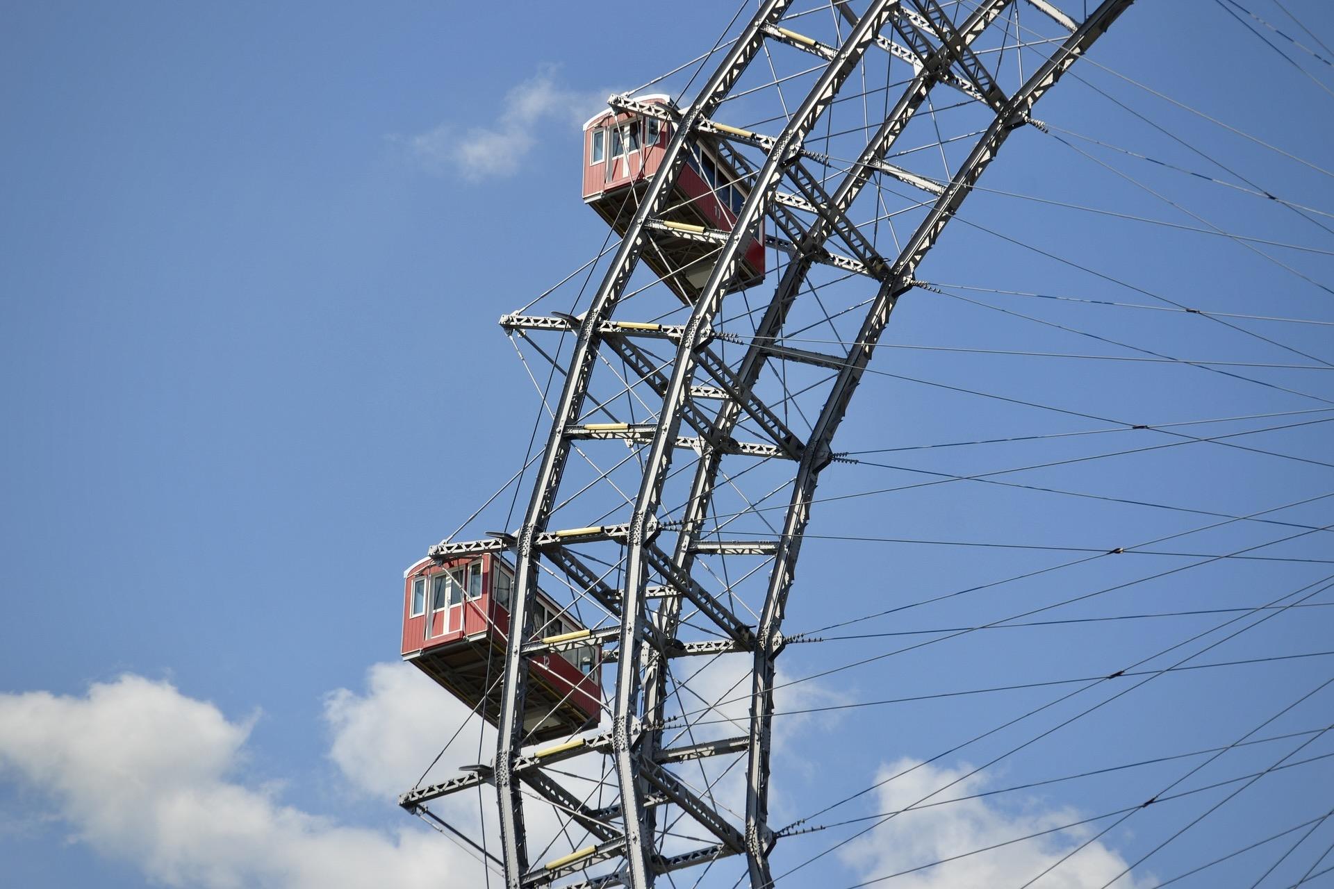 Das Riesenrad auf dem Wiener Prater gehört zu den meistbesuchten Attraktionen in Wien