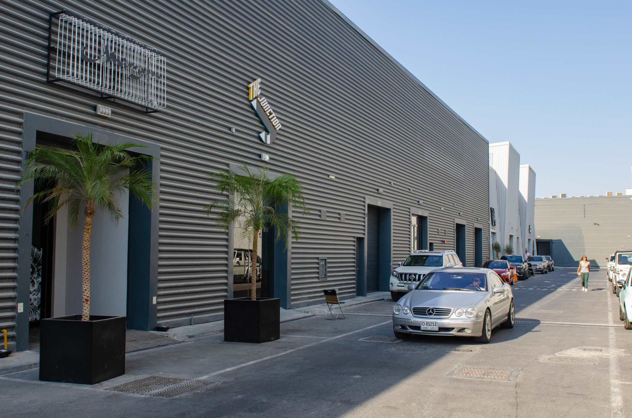 Das Kunstareal der Alserkal Avenue in Dubai