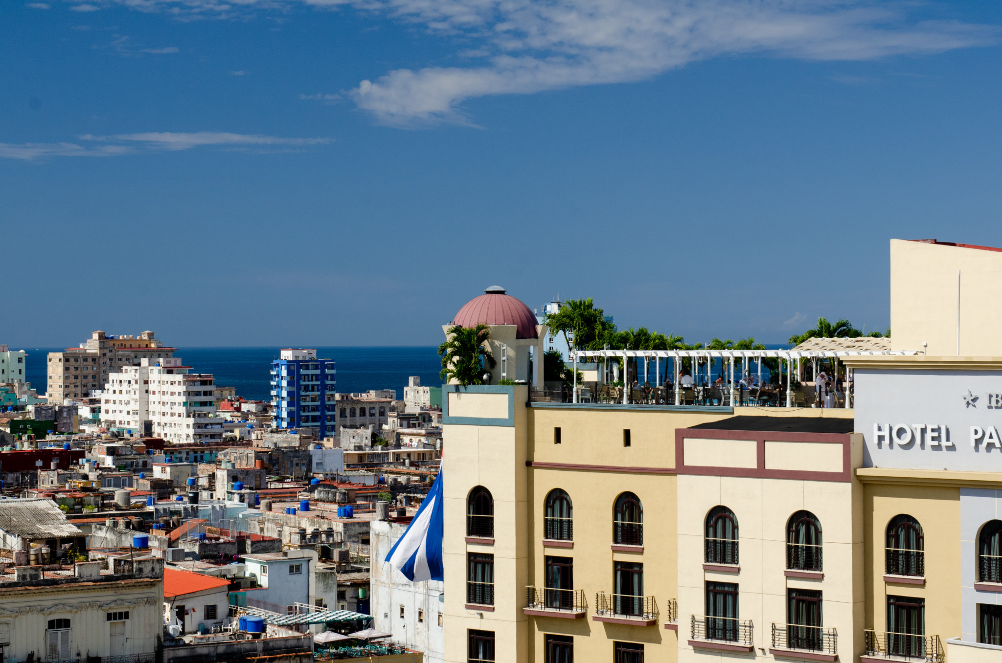 Ausblick über Havanna in Kuba