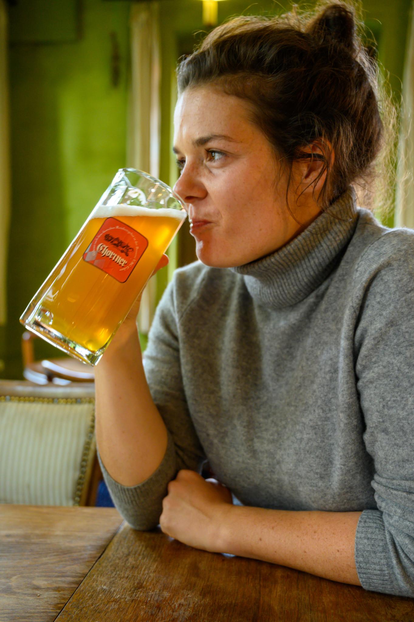 """Bier im """"Zum grünen Baum"""" in Ringenwalde"""