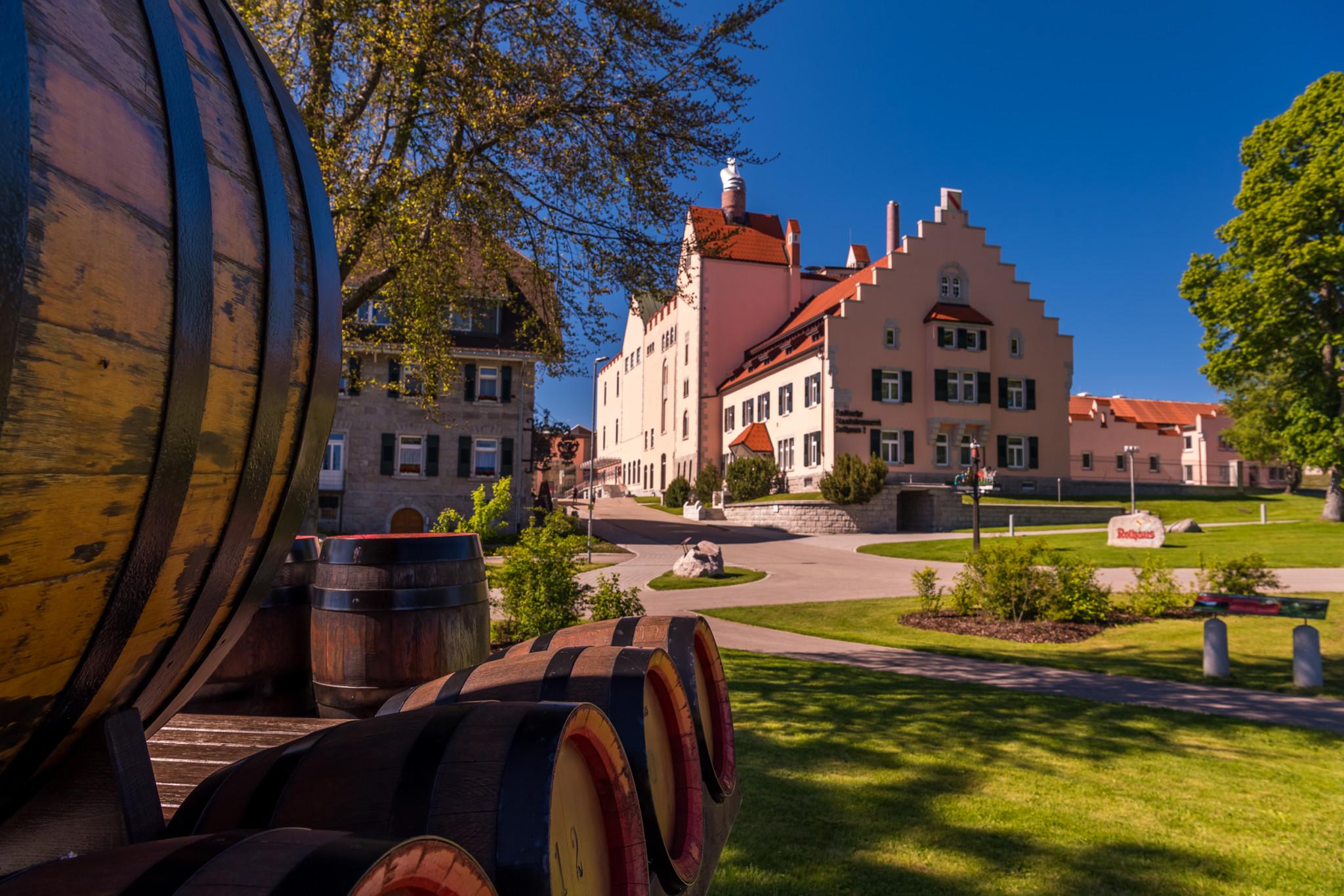 Die Rothaus Brauerei im Schwarzwald