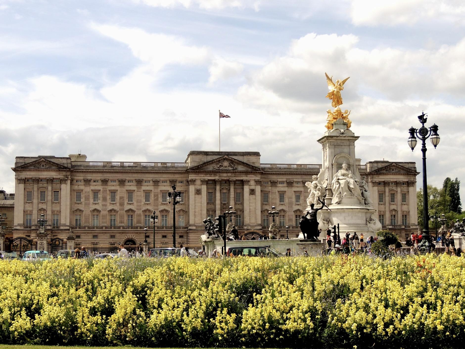 London Sehenswürdigkeiten Buckingham Palace