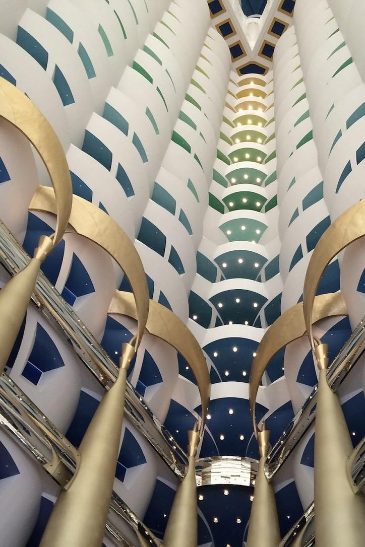 Das Burj al Arab von innen