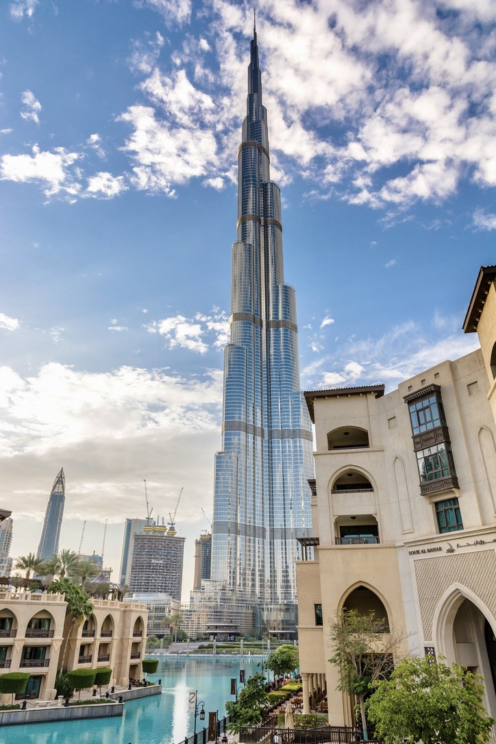 Zu den besten Highlights in Dubai gehört der Burj Khalifa