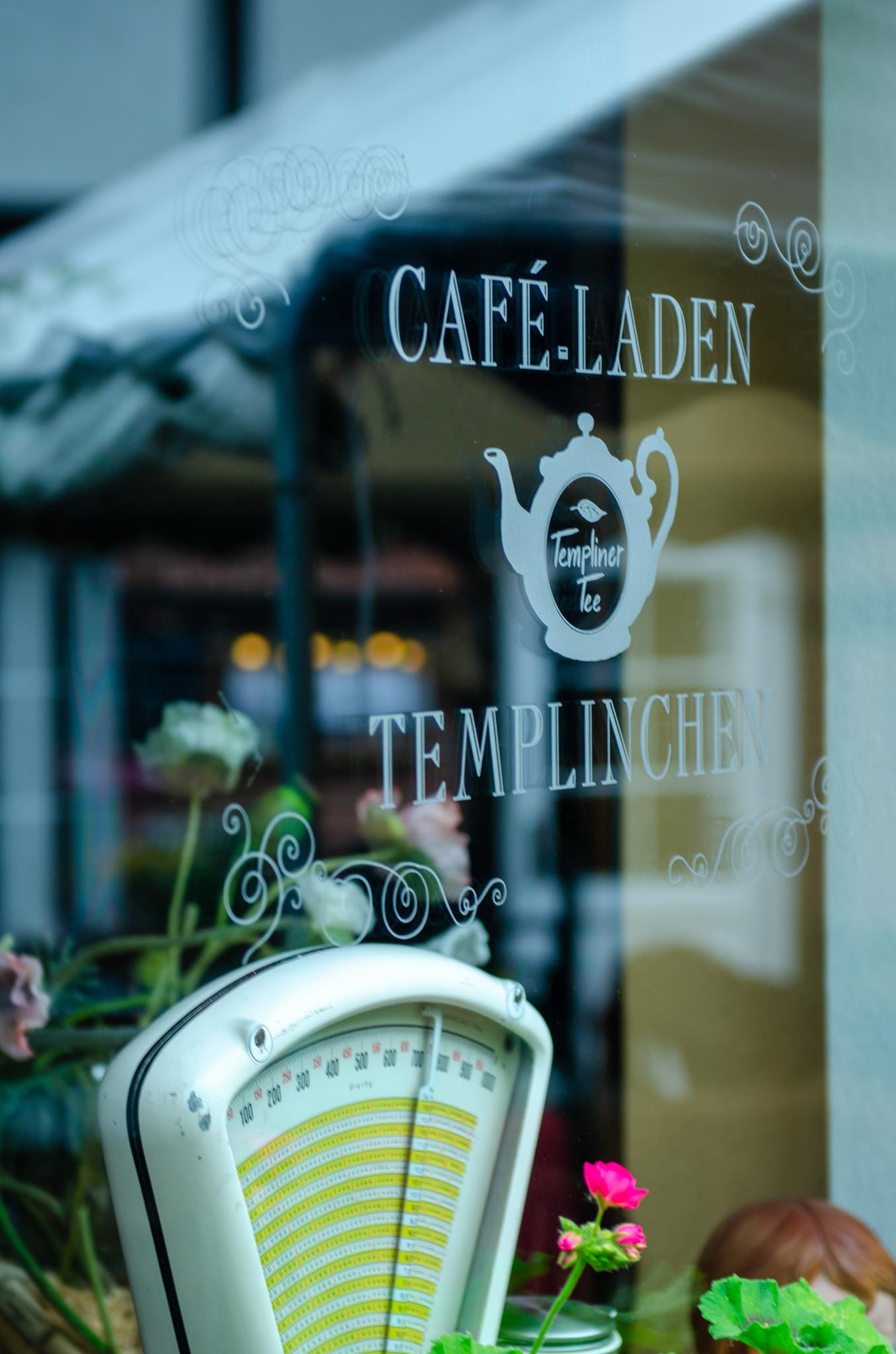 Café in Brandenburg bei schlechtem Wetter