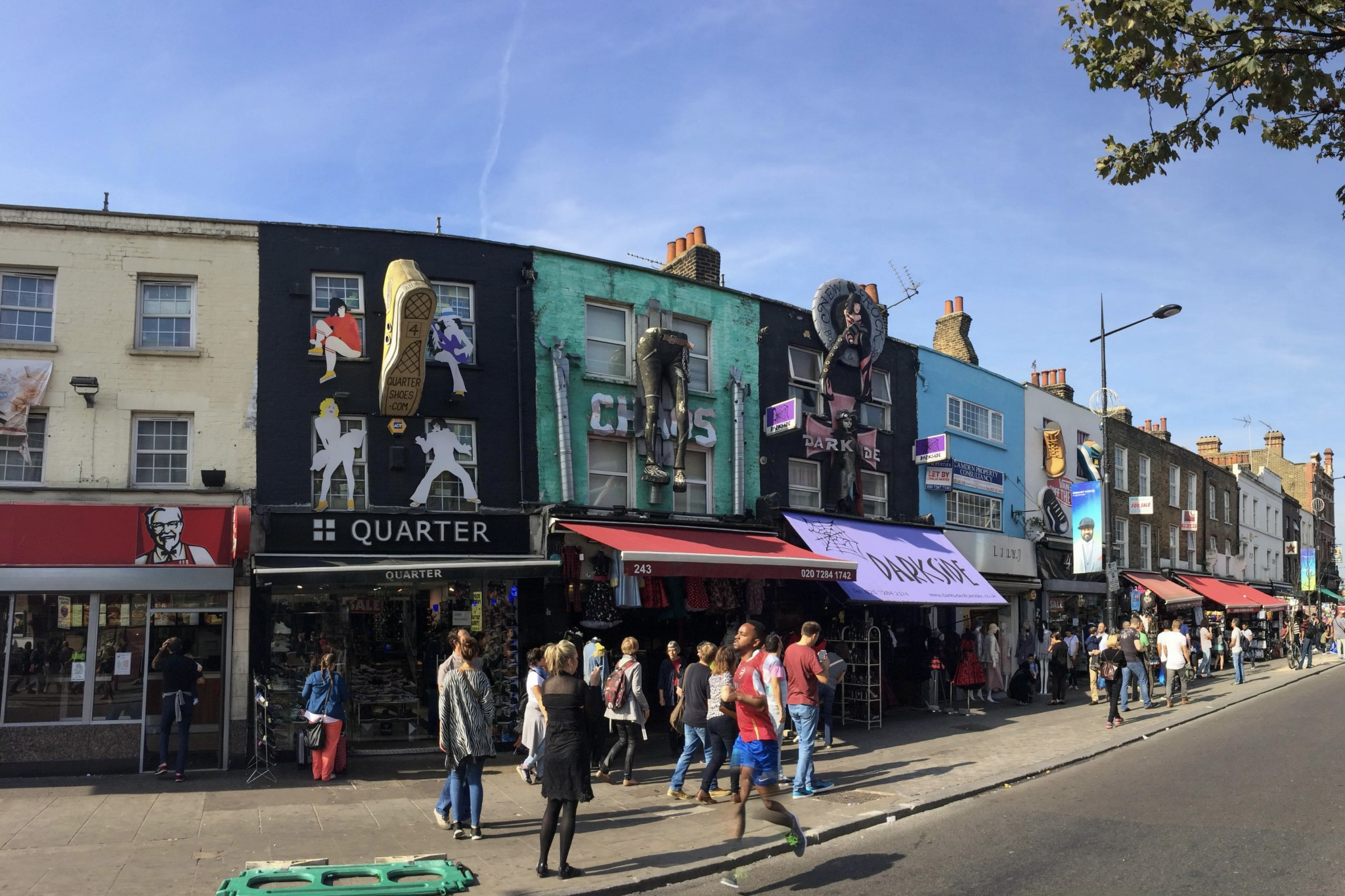 Camden Town in London