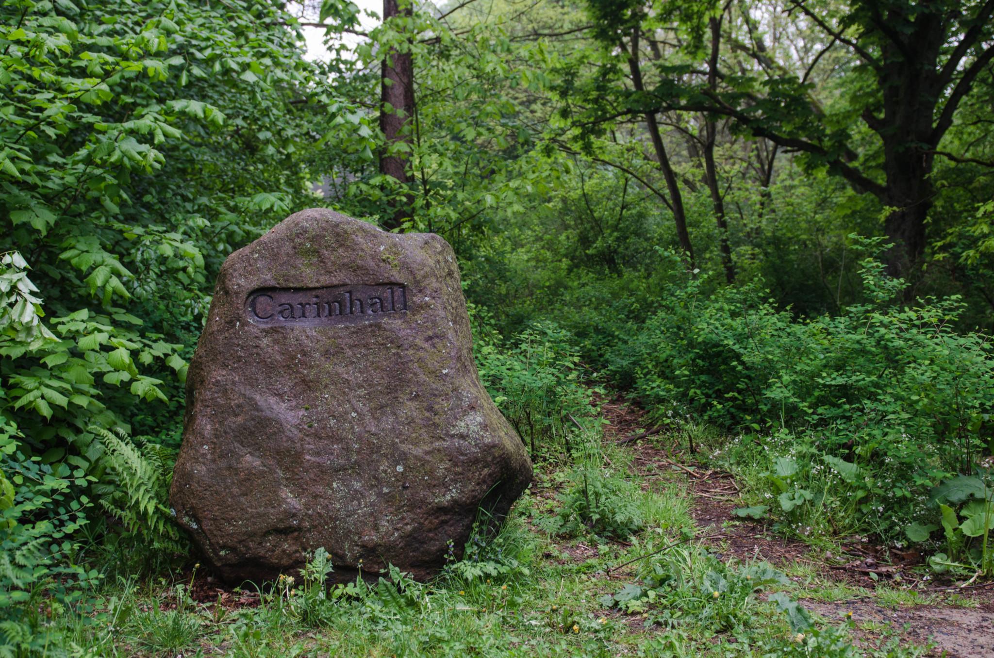 Carinhall kann man gut in Brandenburg bei schlechtem Wetter besuchen