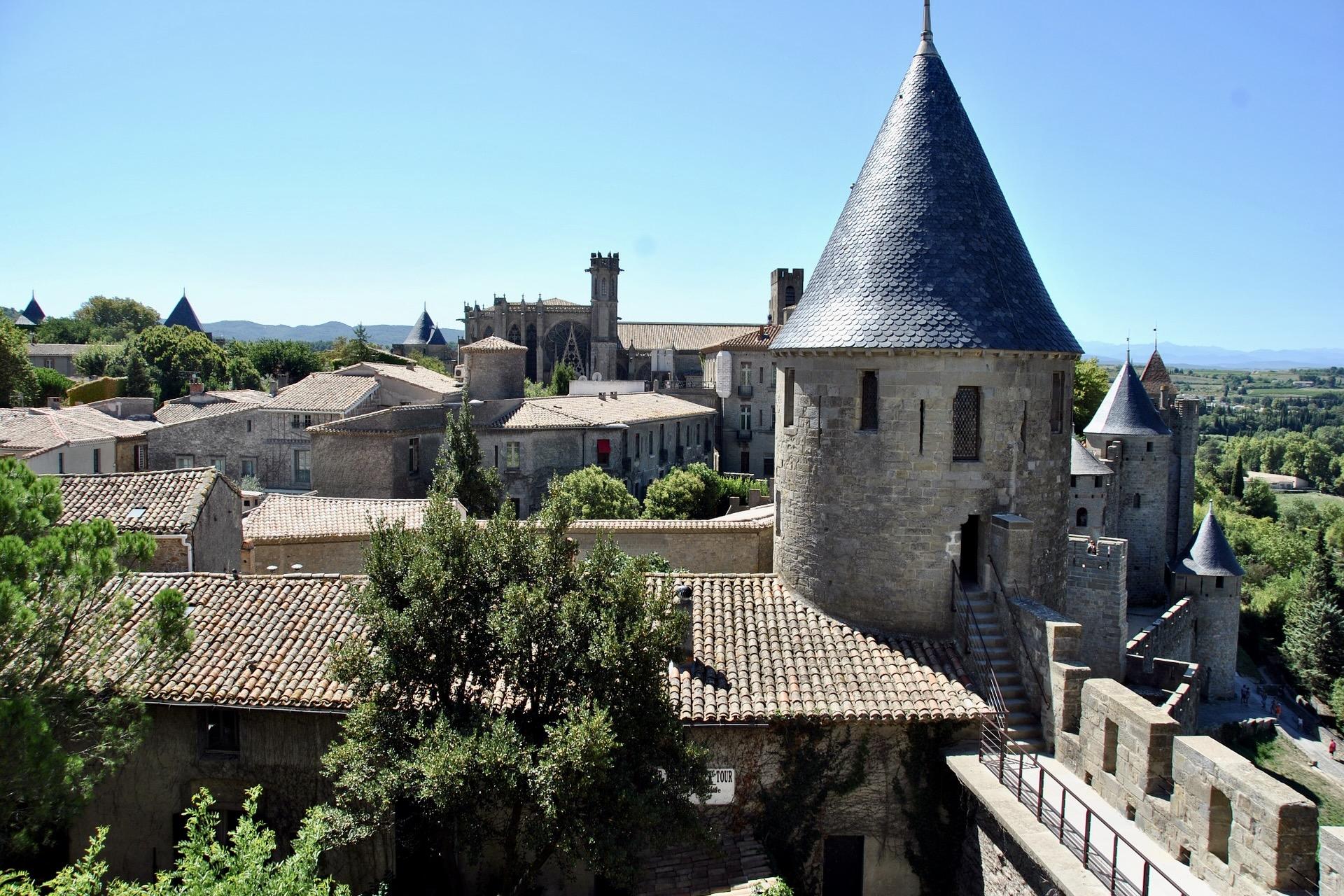 Cité de Carcassonne in Frankreich
