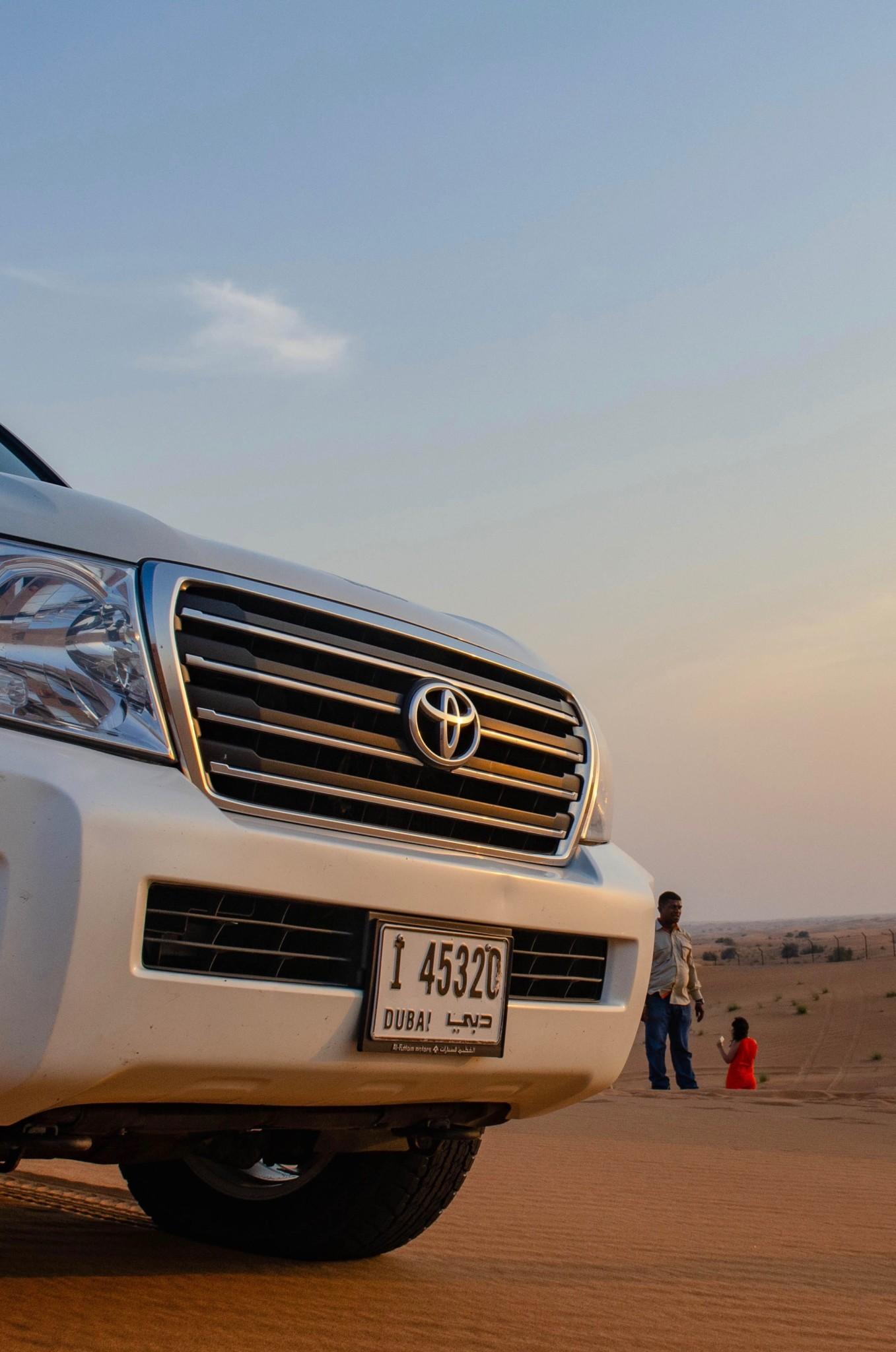Eine Wüstensafari in Dubai