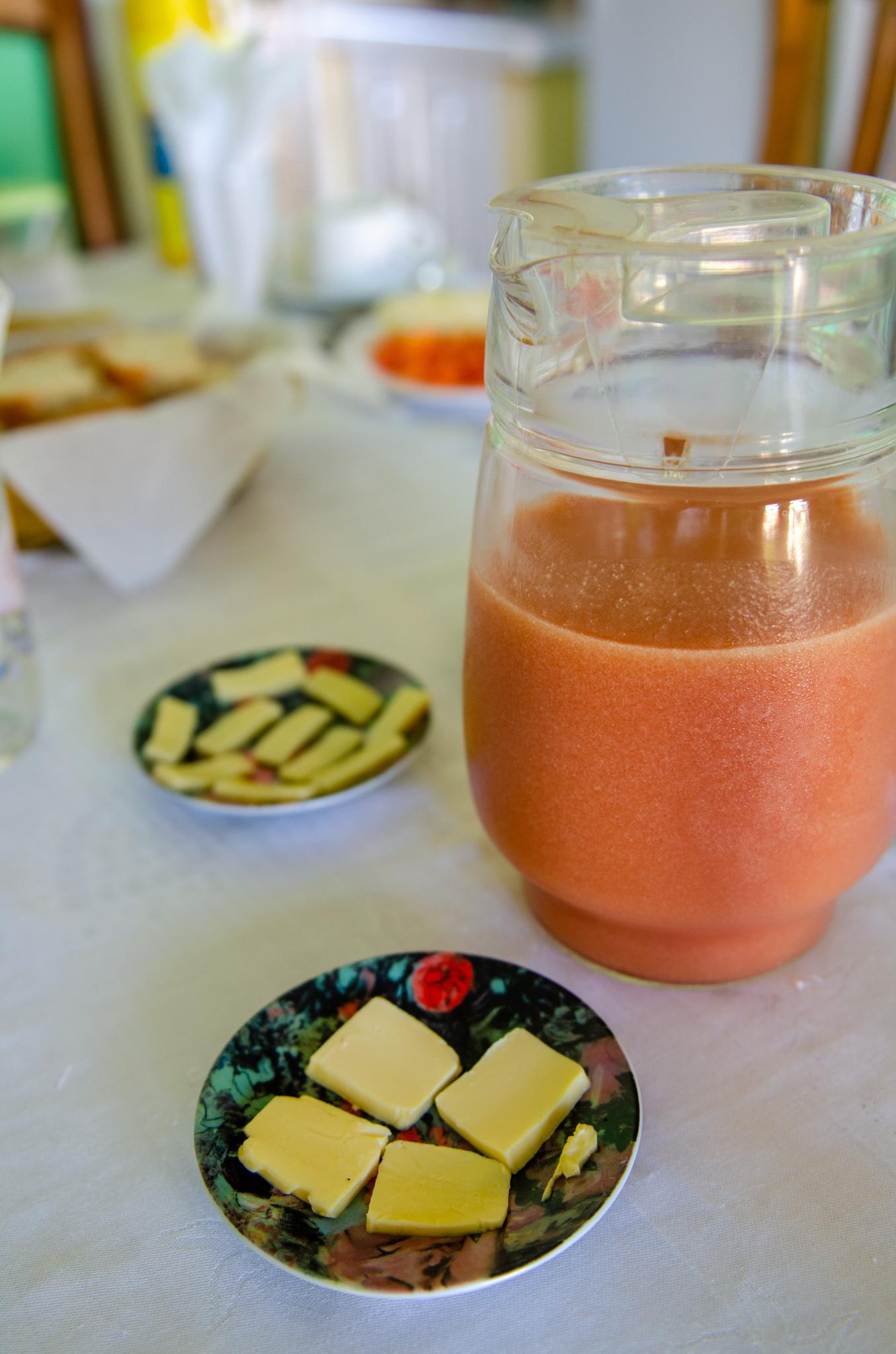 Frühstück in Kuba