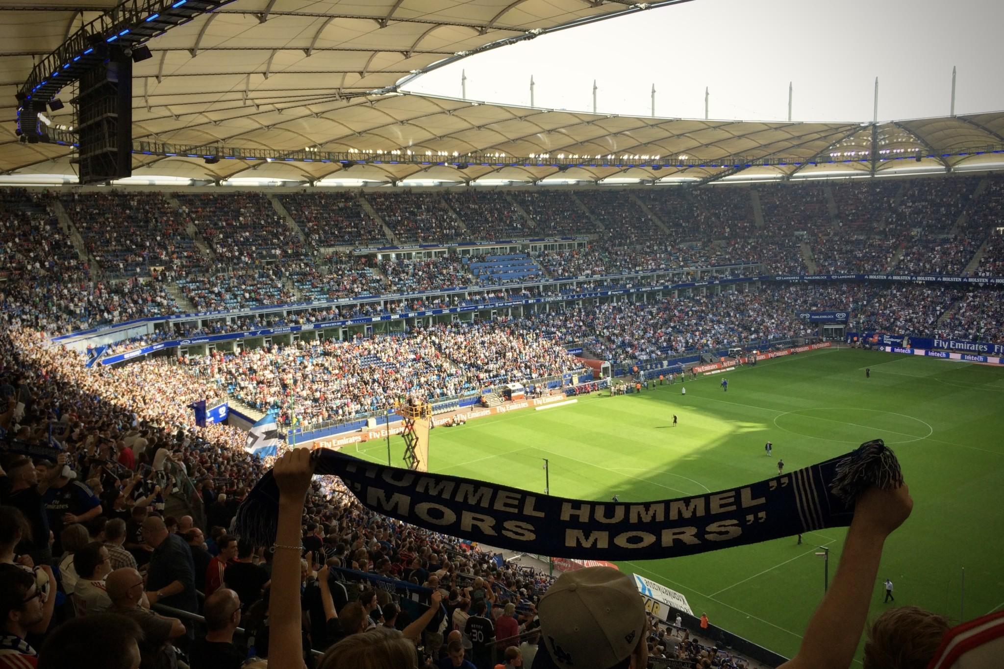 Hamburg-Tipps für Aktivitäten: Ein Fußballspiel beim HSV anschauen