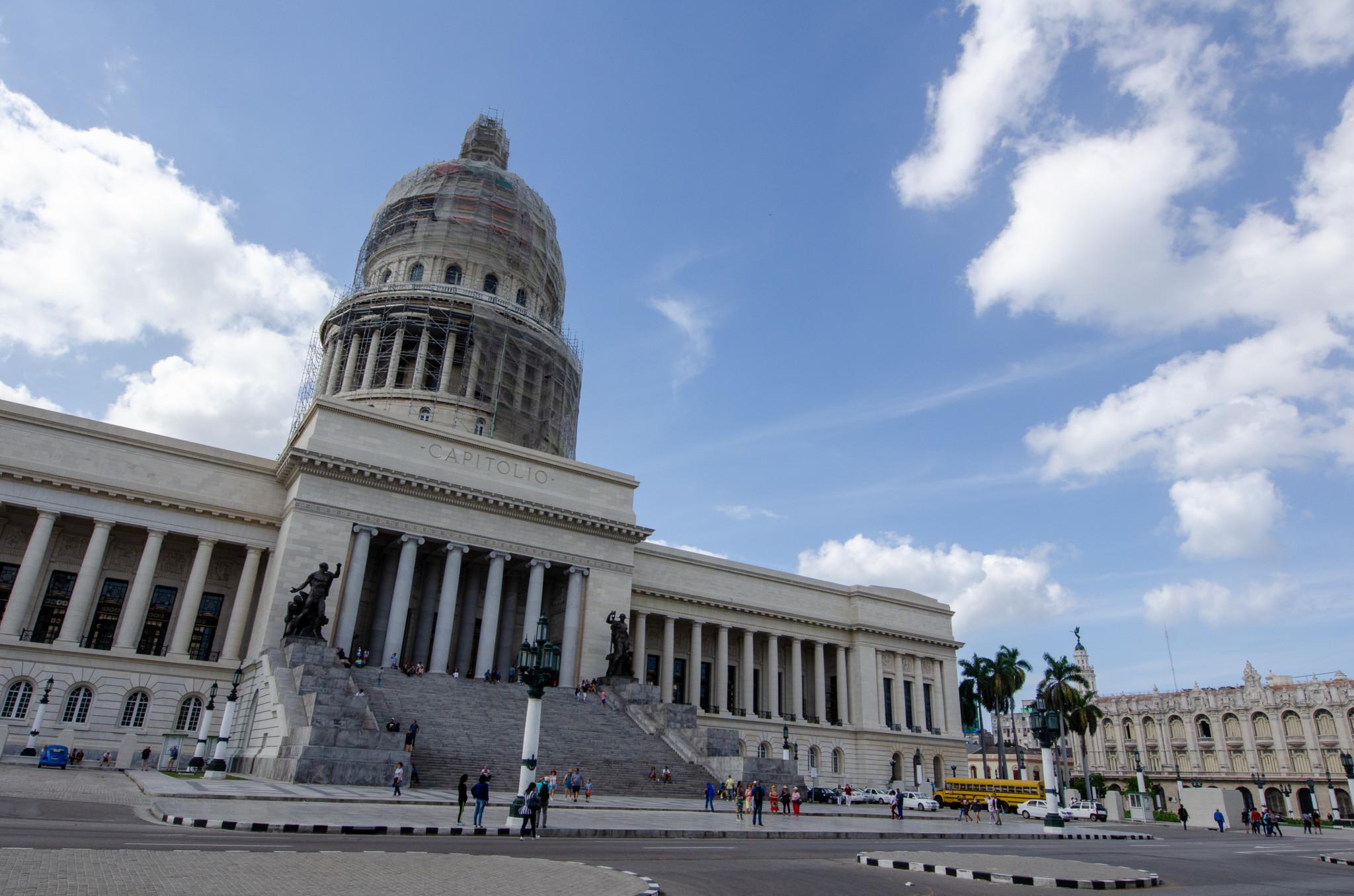 Das Capitol ist die erste Sehenswürdigkeit auf der Kuba Reiseroute