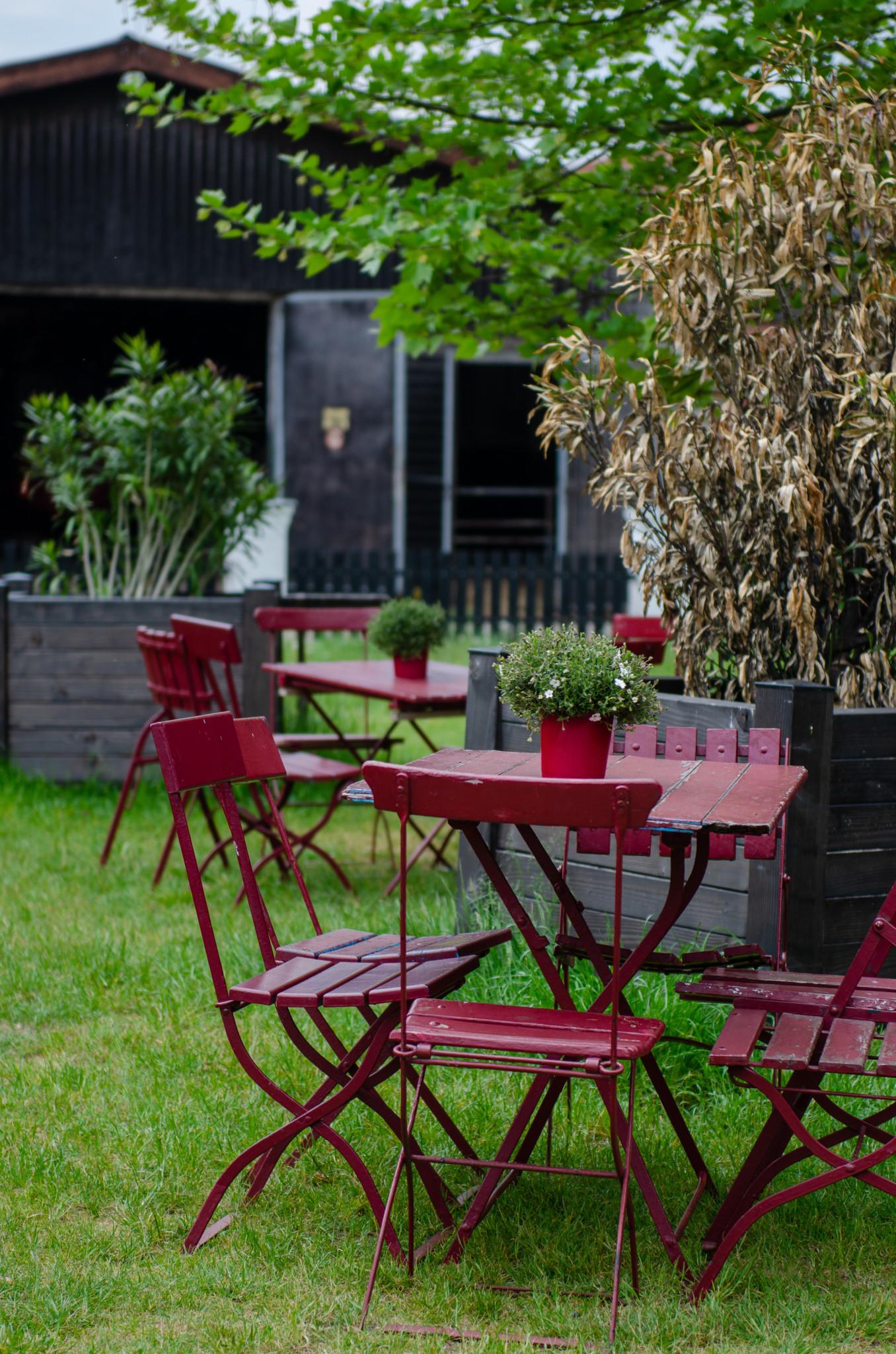 Terrasse in Brodowin