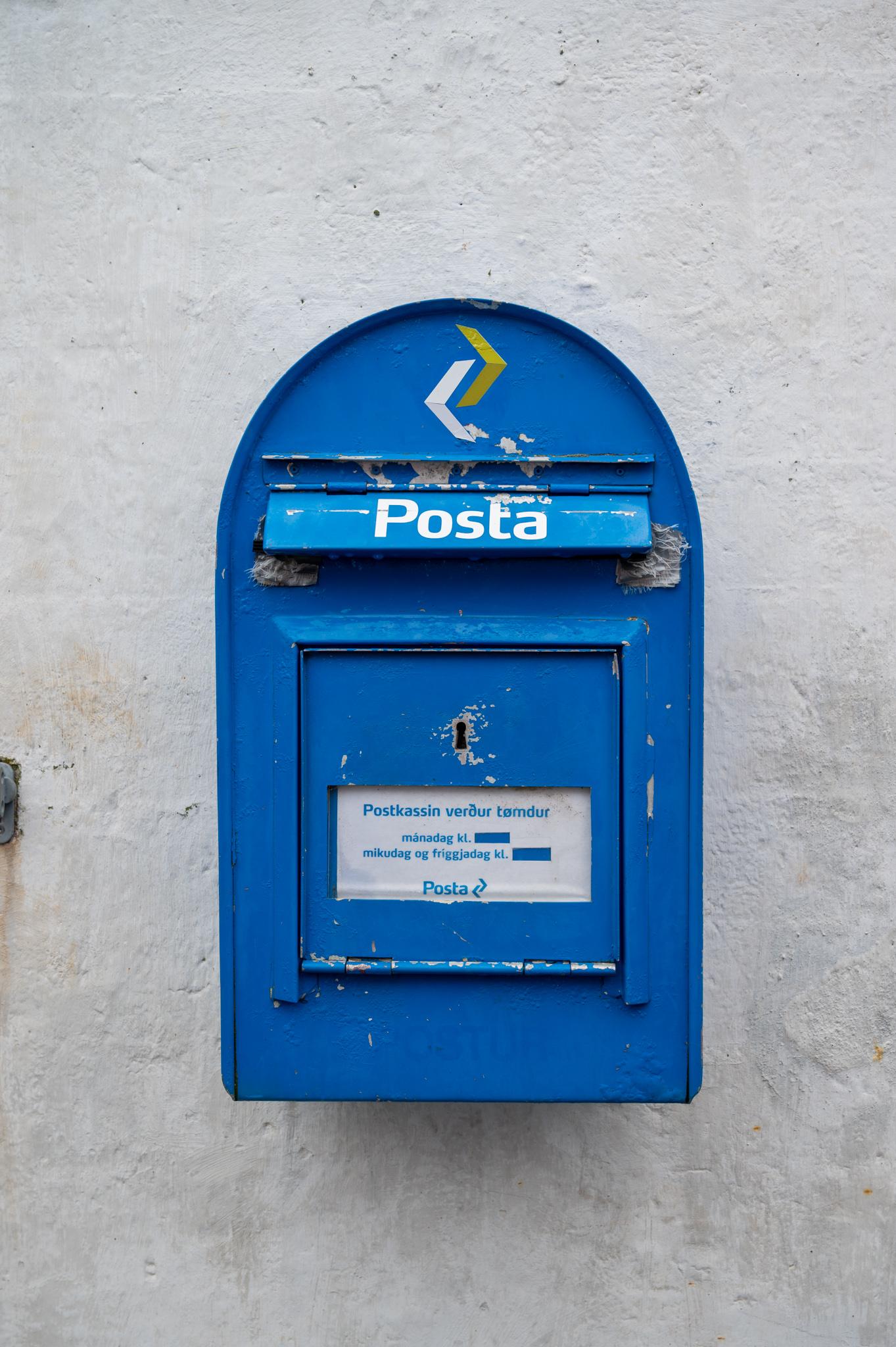 Briefkasten Kalsoy