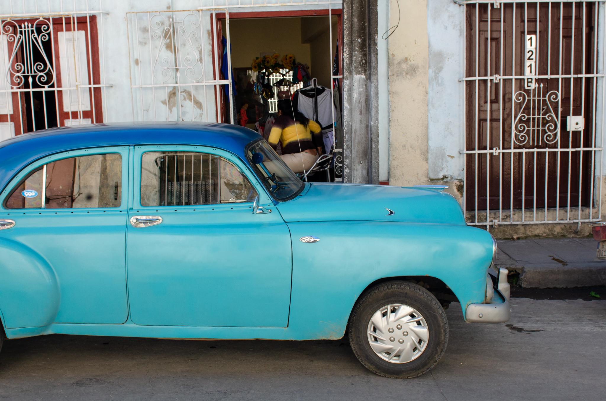 Essen in Kuba - nur mit typischem Transport