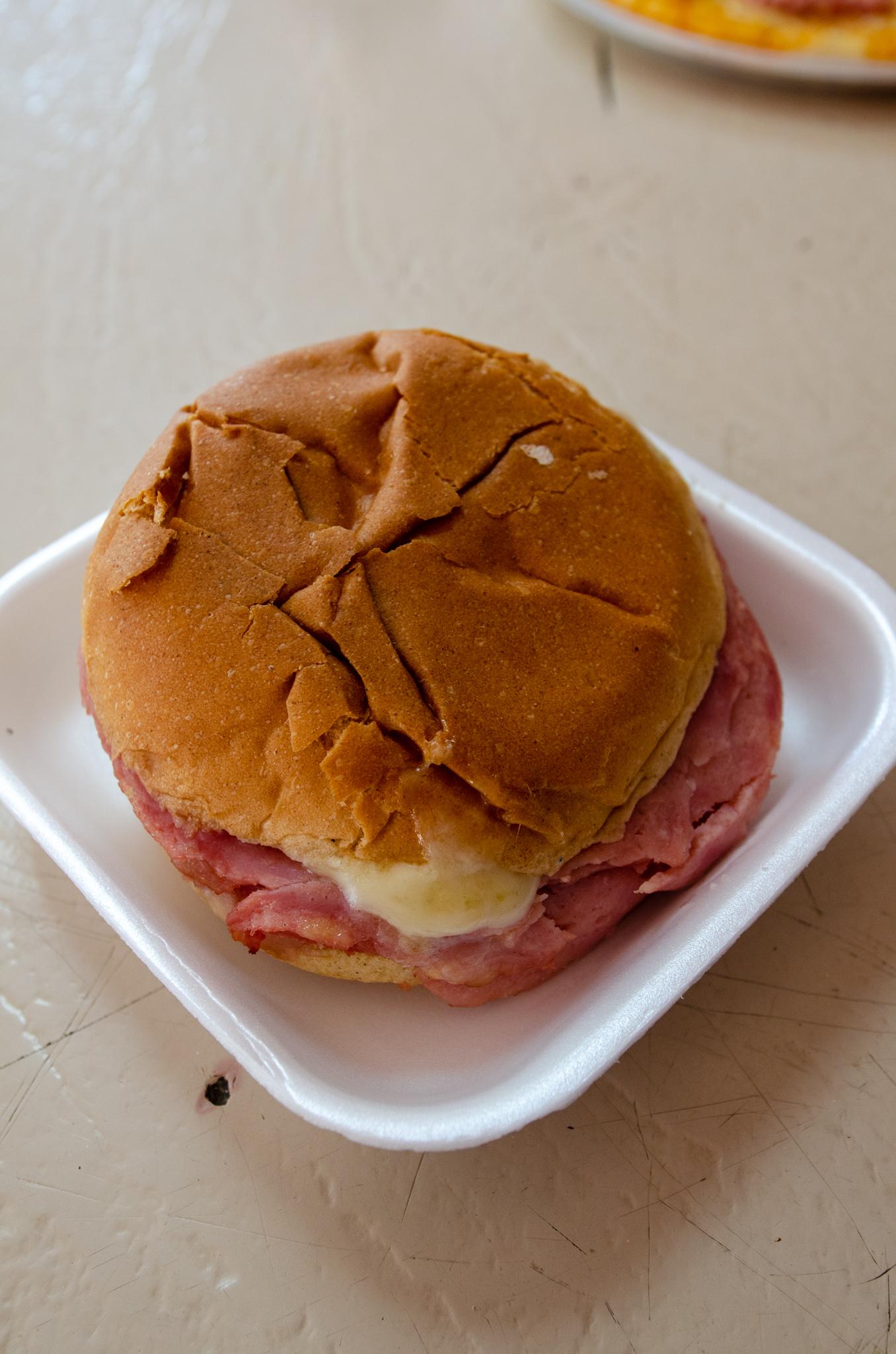Sandwich auf Kuba