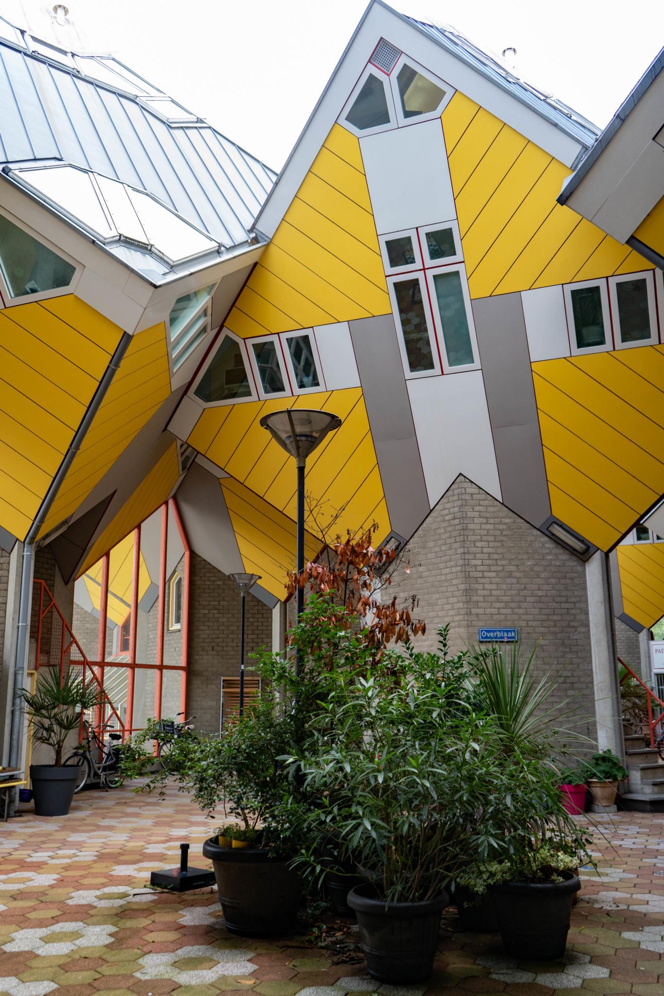 Berühmte Rotterdam Sehenswürdigkeiten: Die Kubushäuser