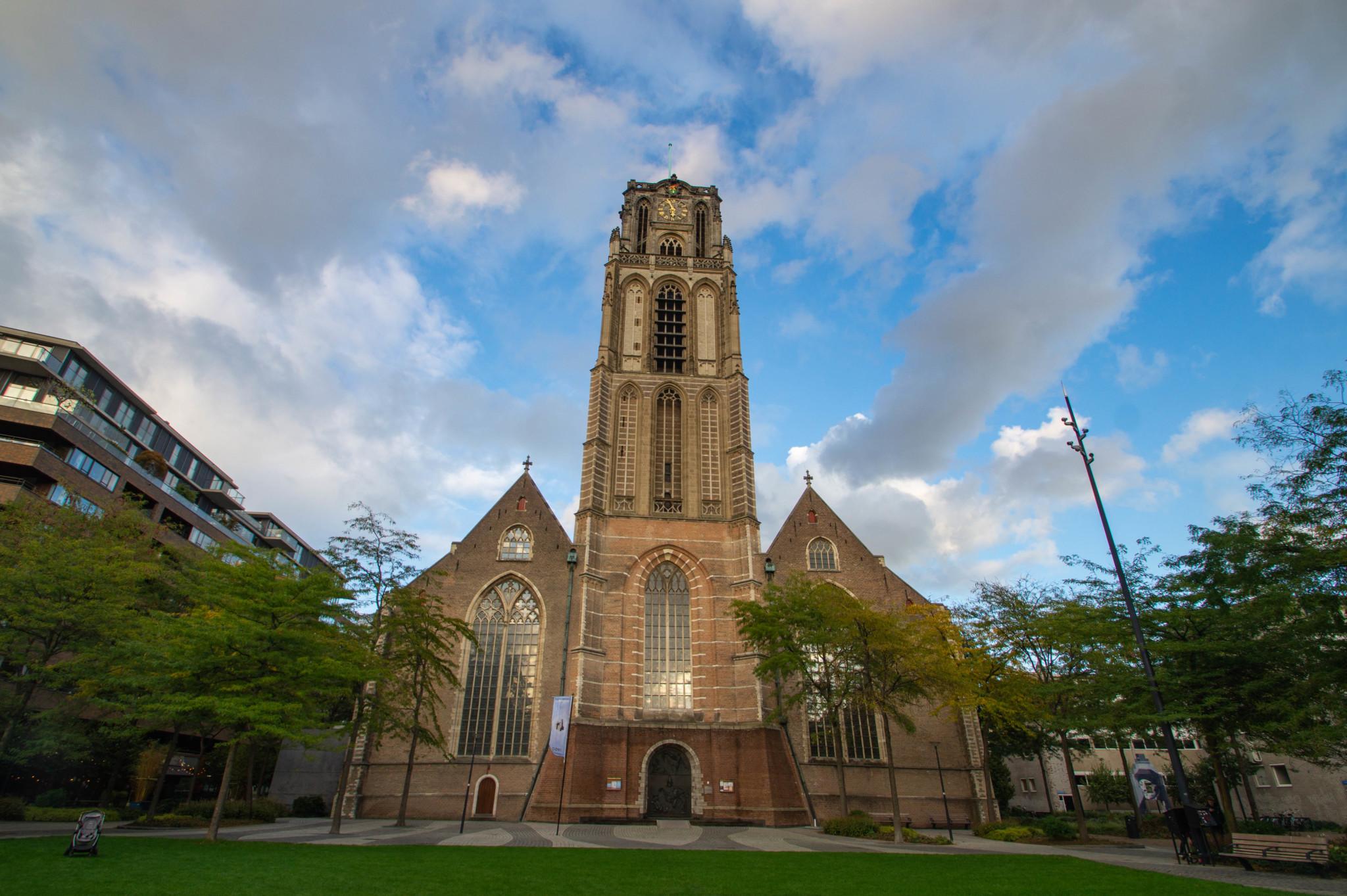 Laurenskerk –eine der wichtigen Sehenswürdigkeiten in Rotterdam