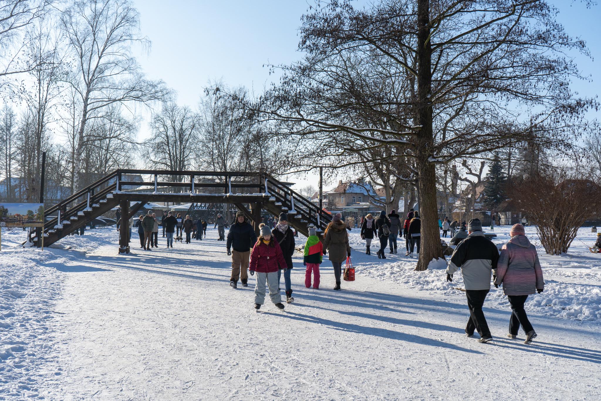 Ausflüge im Winter in Berlin: Nach Lübbenau