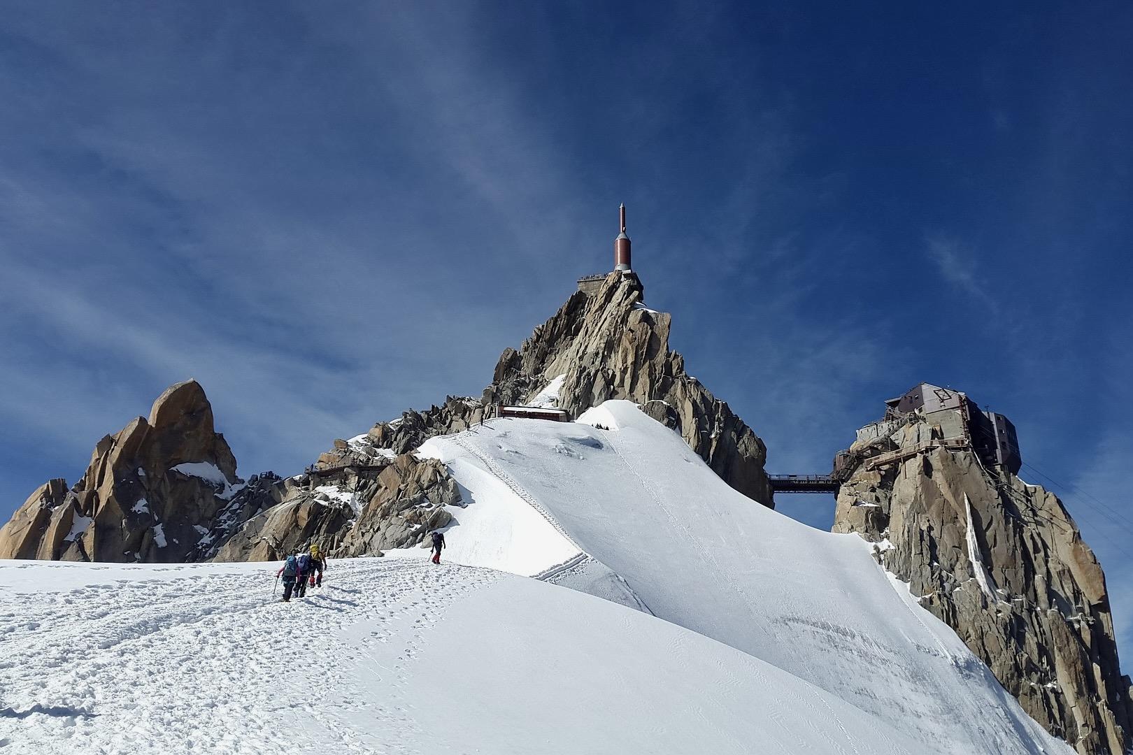 Mont Blanc in Frankreich