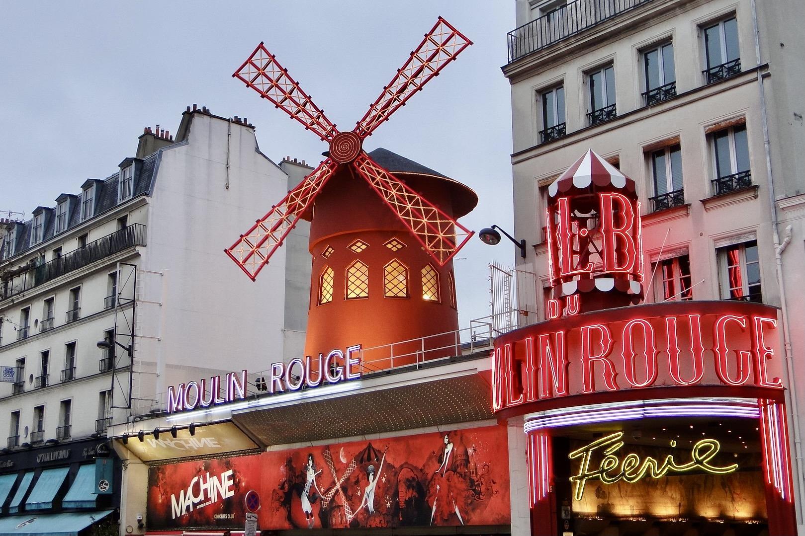 Moulin Rouge in Paris