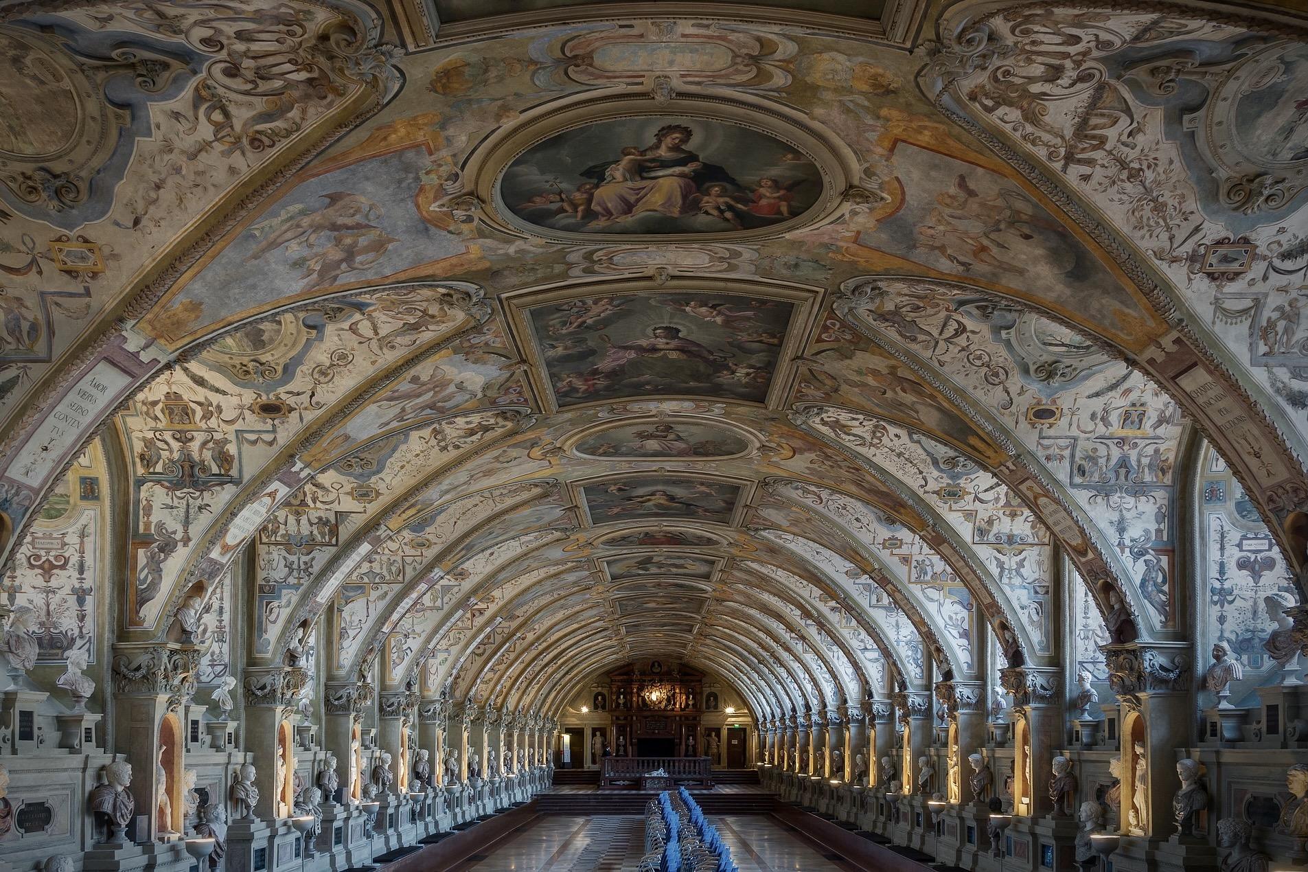 Das Antiquarium in der Residenz München gehört zu den besten München Sehenswürdigkeiten