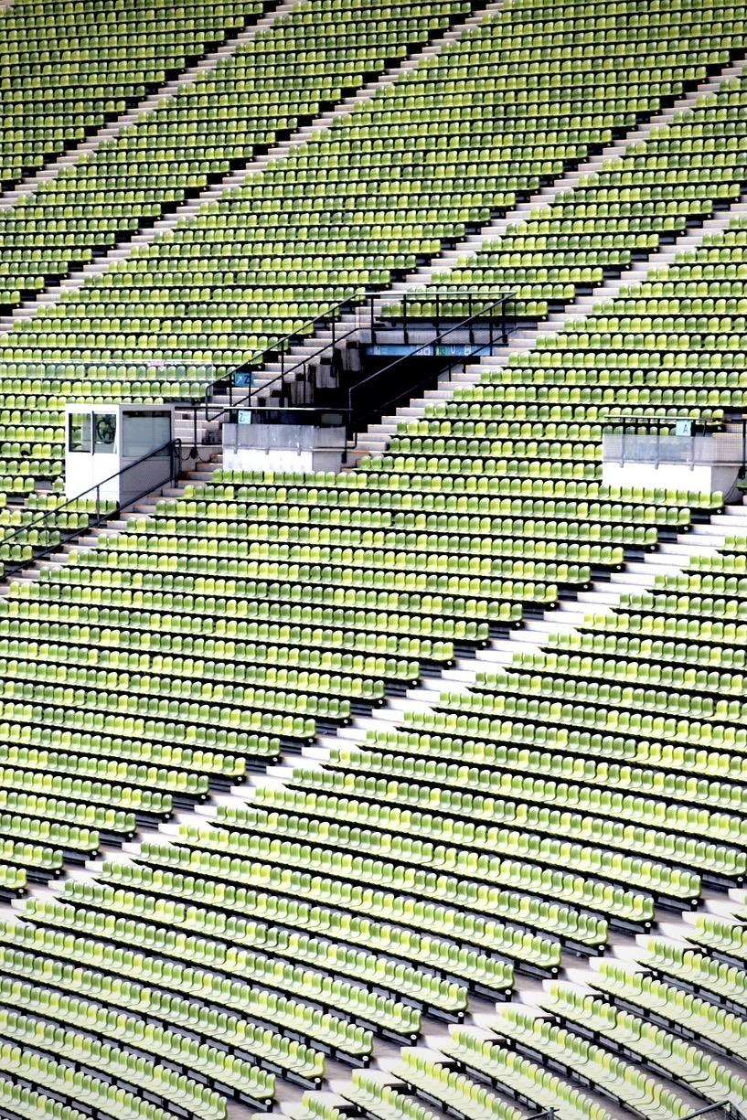 Das Olympiastadion München ist heute eine beliebte Attraktion