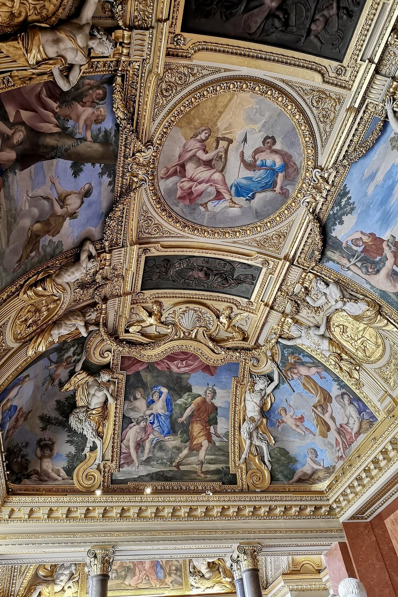 Louvre von innen