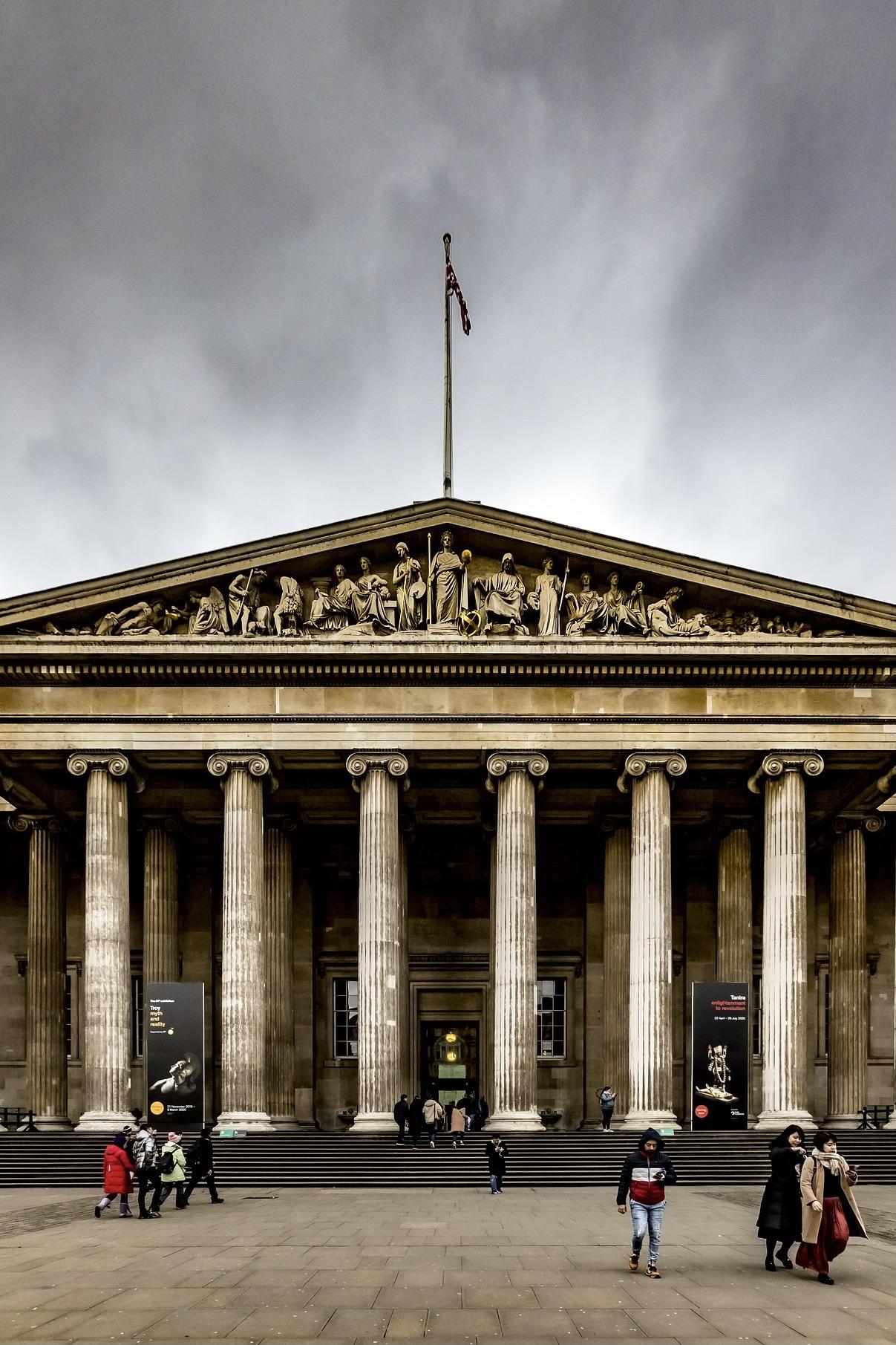 Eingang Museum London