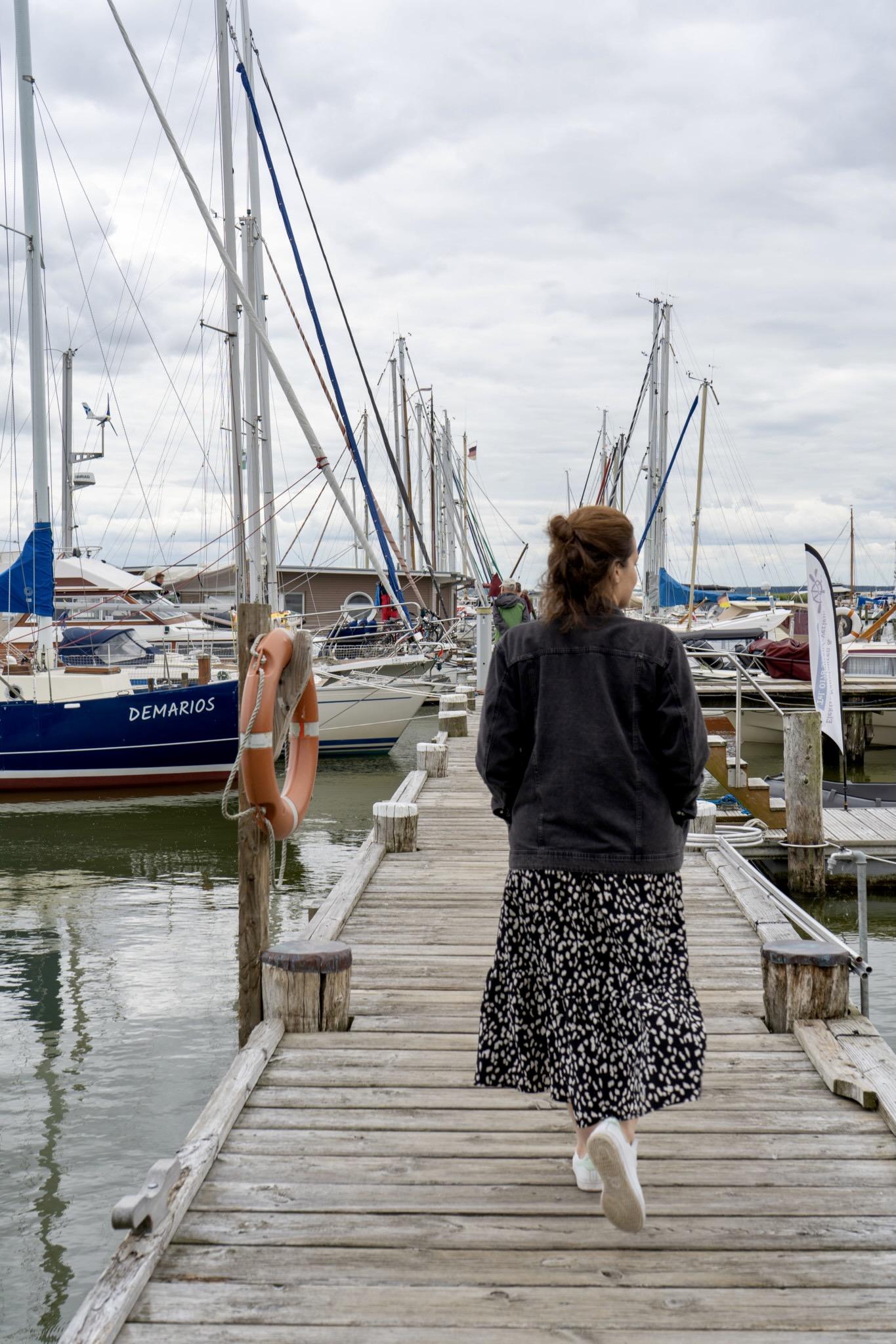 Hafen auf Usedom