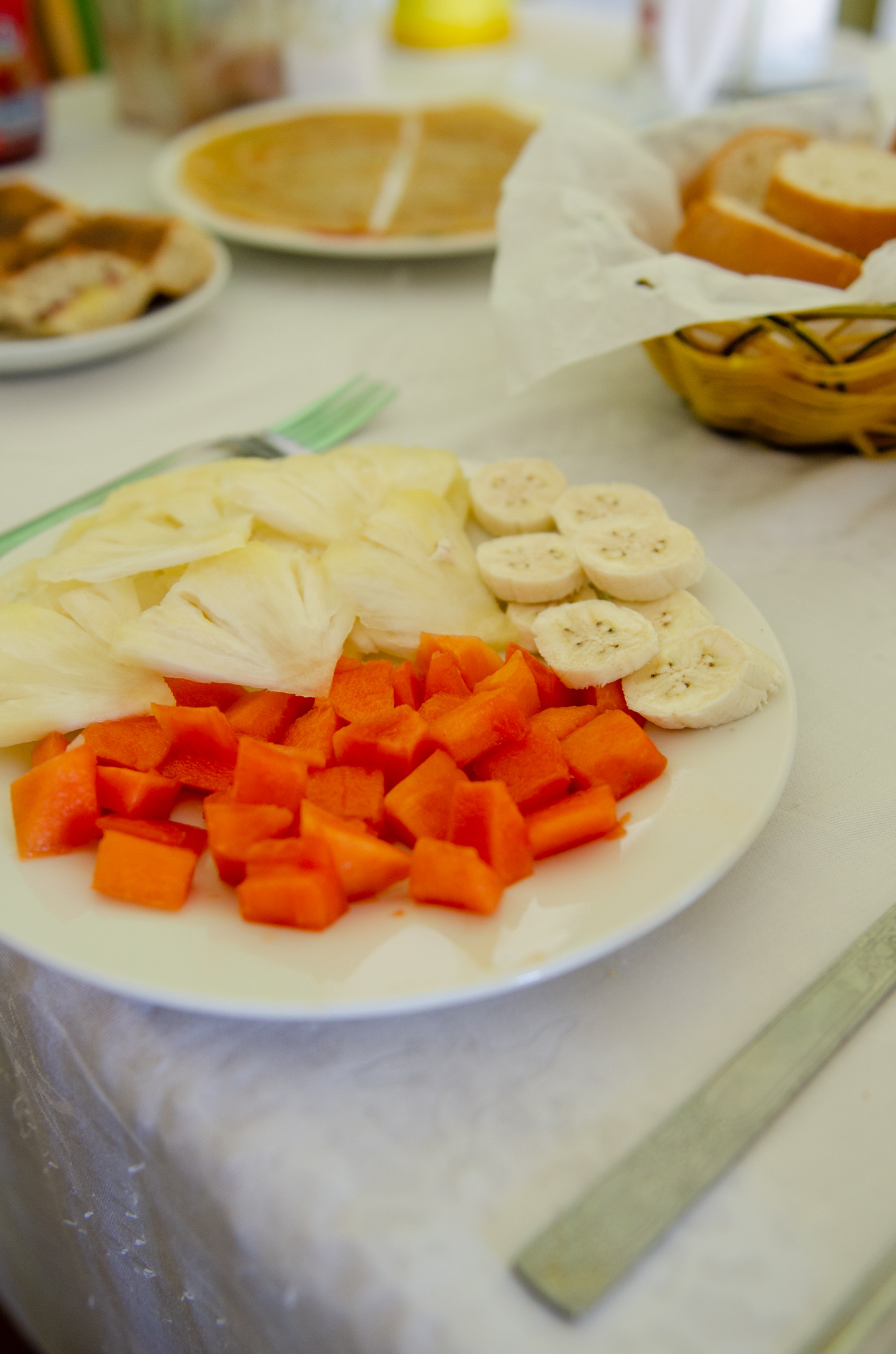 Obst zum Frühstück in Kuba