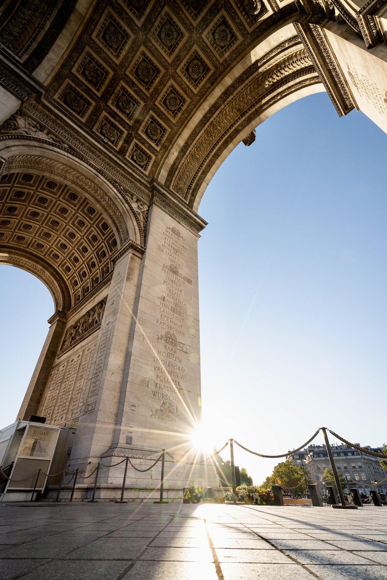 Arc de Triomphe: wichtige Paris Sehenswürdigkeit
