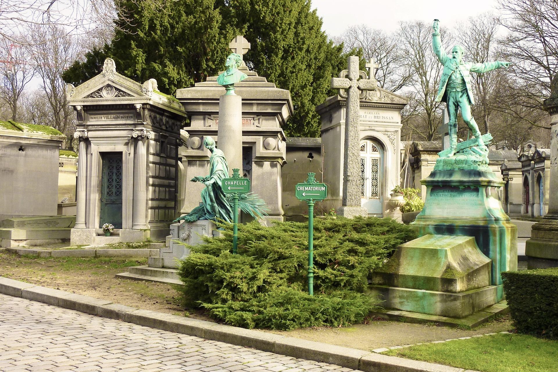 Pere Lachaise in Paris