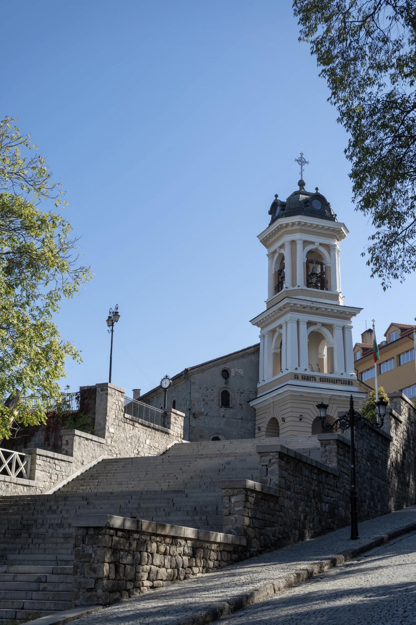 Ein Städtetrip in Europa nach Plovdiv führt einen zu schönen Kirchen