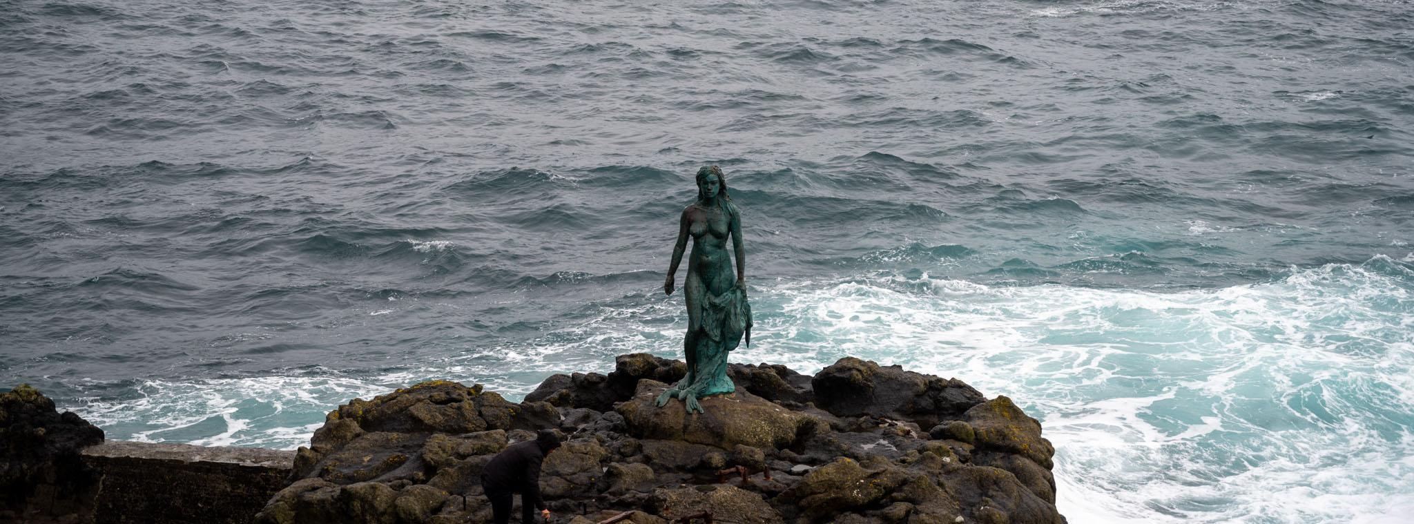 Robbenfrau Insel Kalsoy