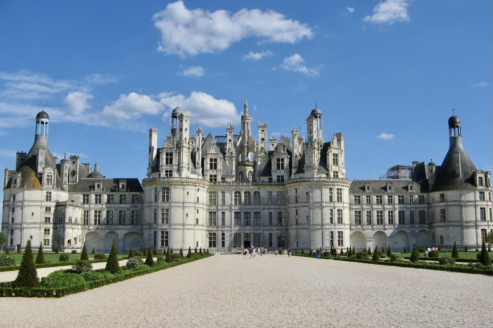 Schloss Chambord in der Loire