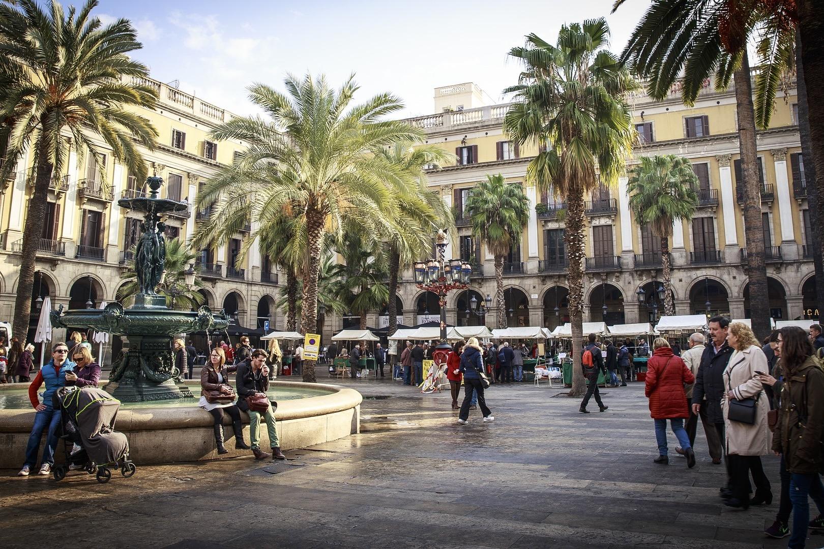 Barcelona ist hat viele schöne Plätze in der Altstadt
